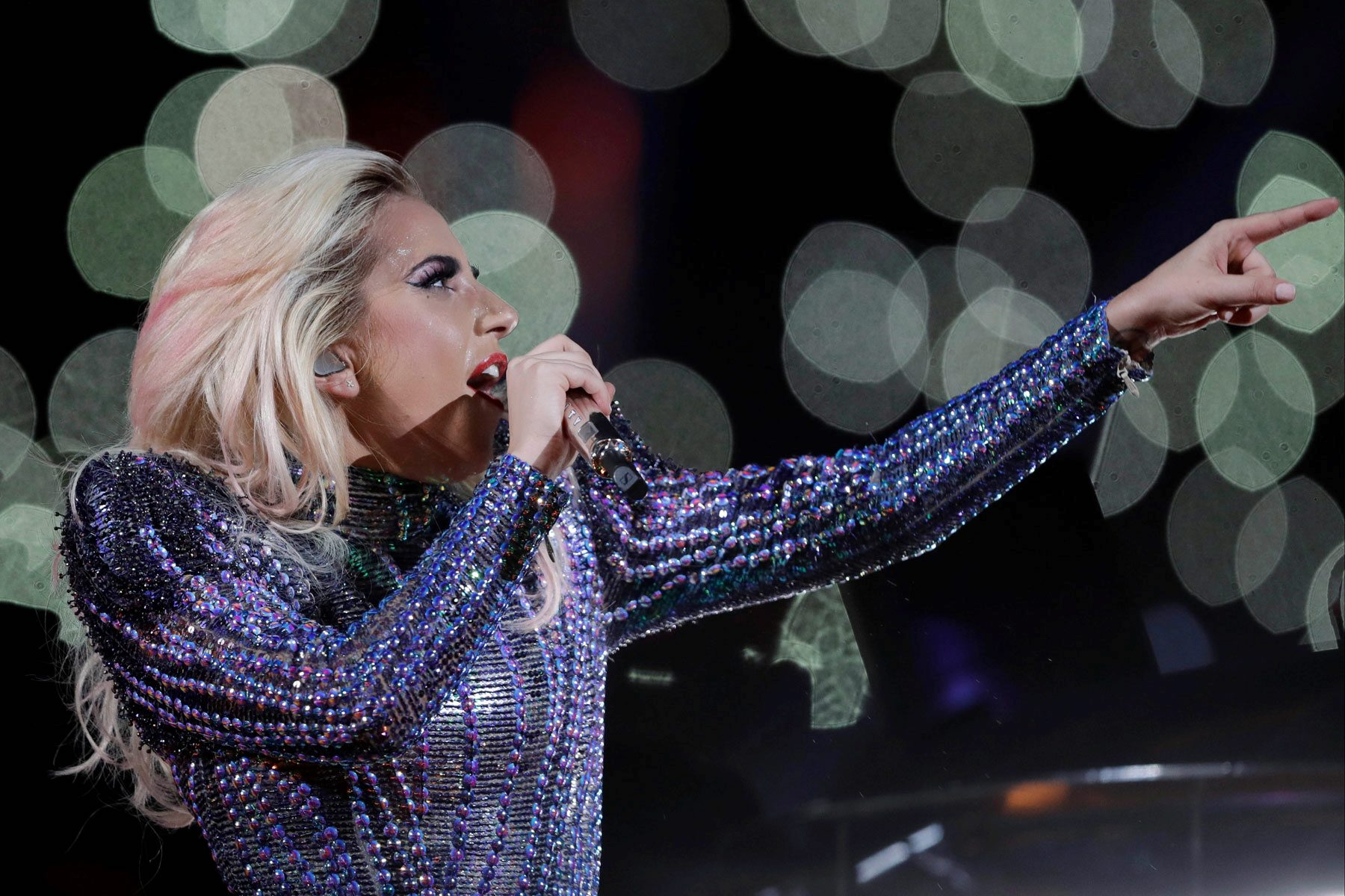Lady Gaga and Super Bowl bear criticism - Washington Times