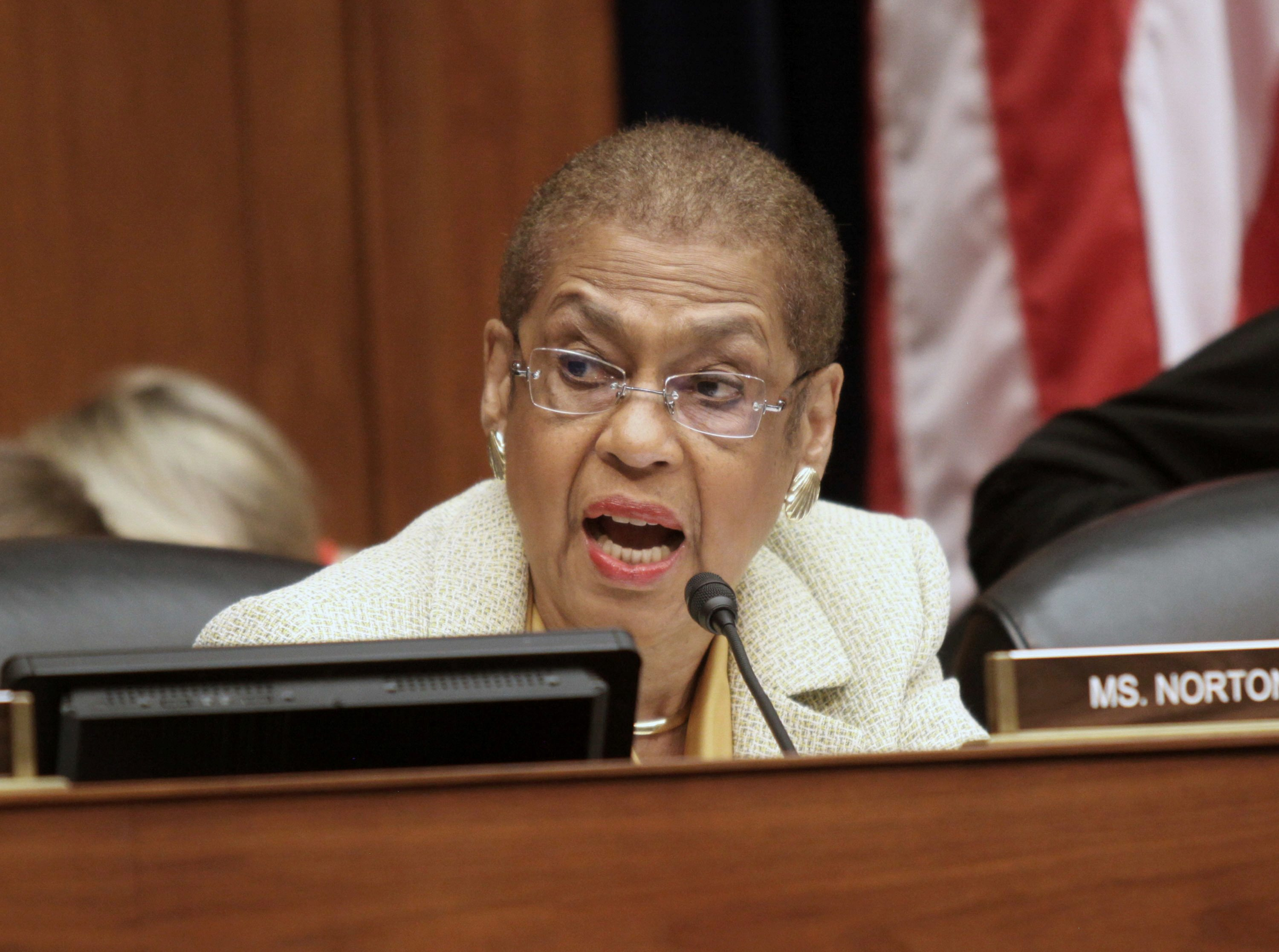 Eleanor Holmes Norton: Impeachment would be a 'road to nowhere'