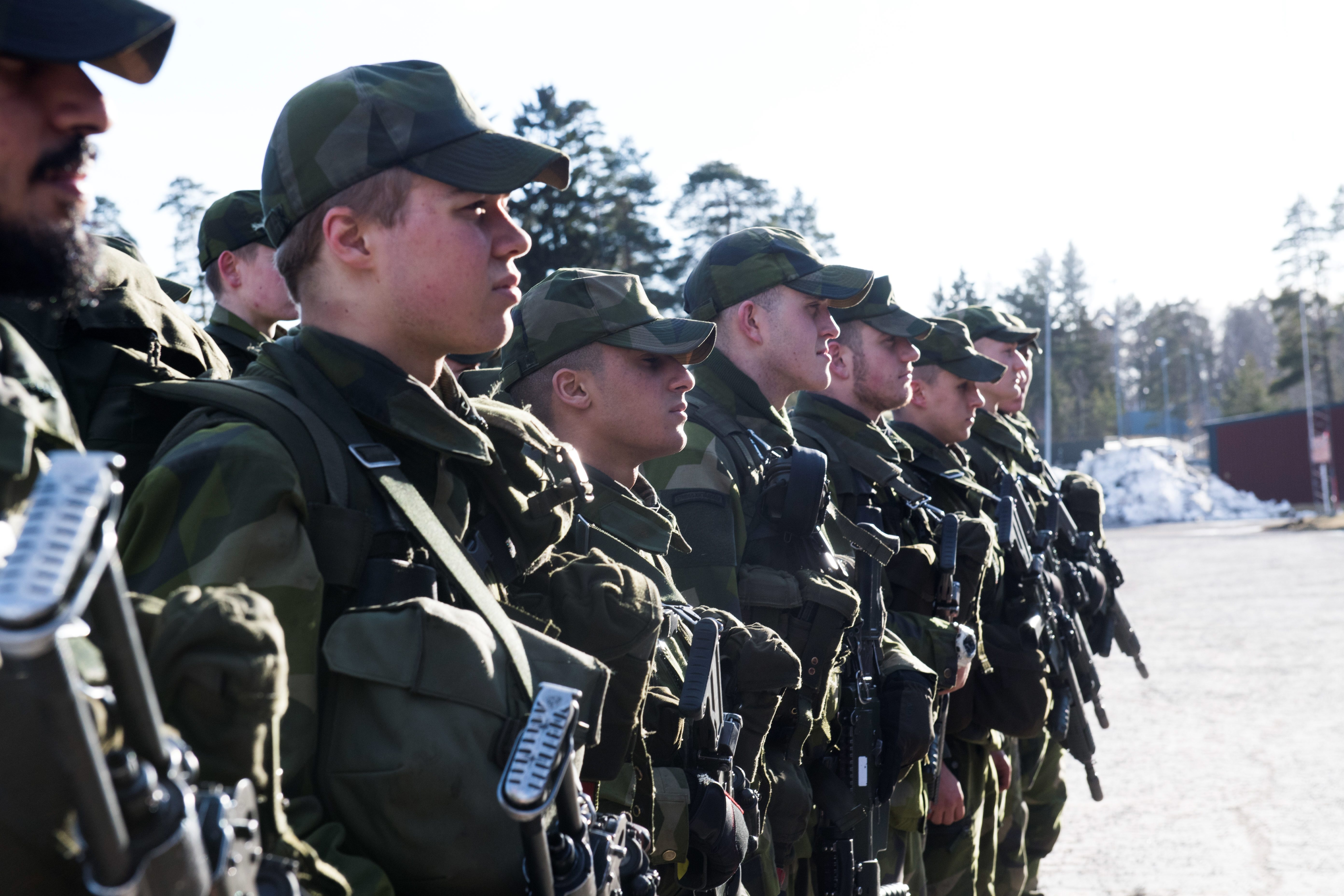 Sweden resumes military draft to prepare for potential conflict with ...