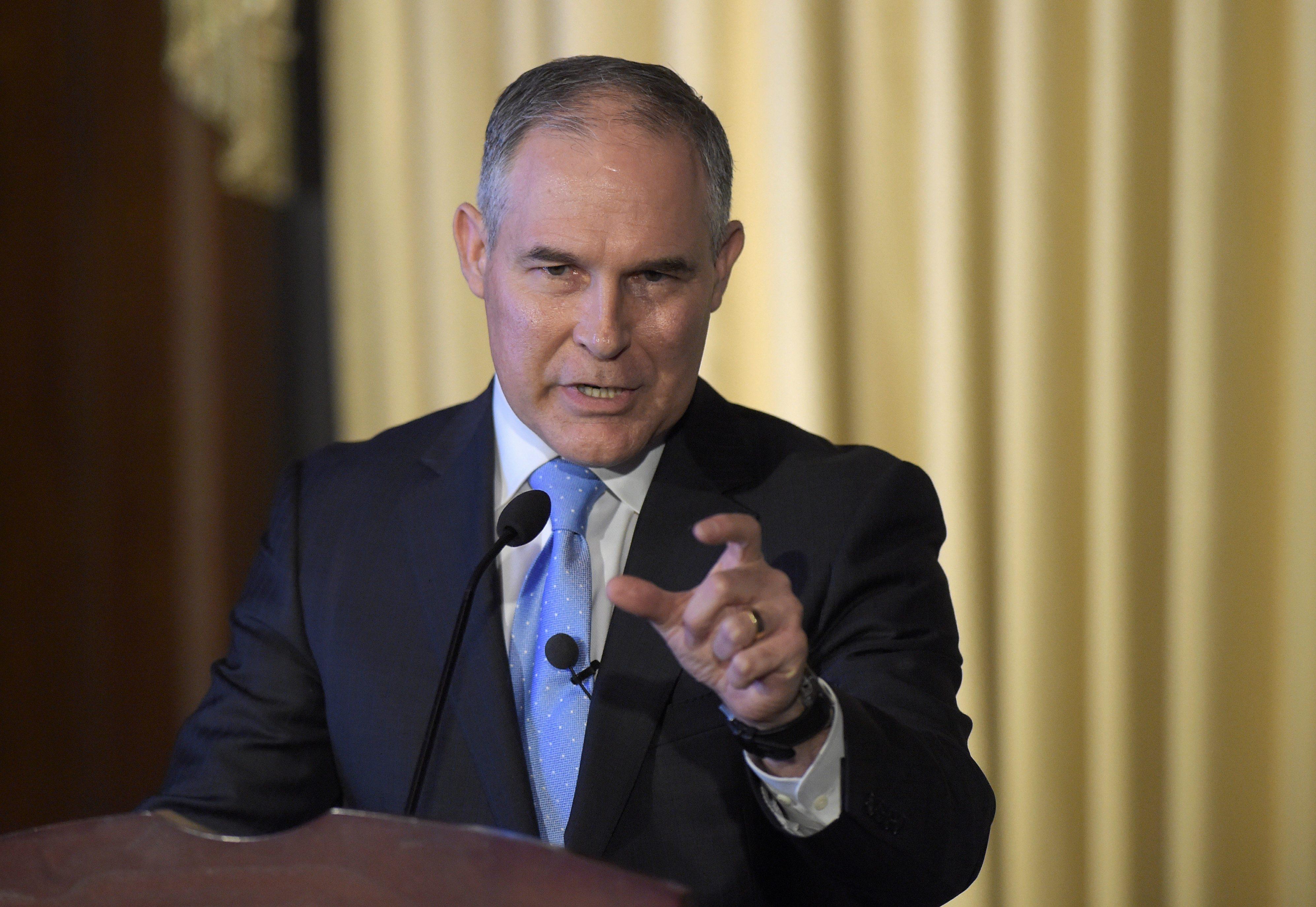 Scott Pruitt\u0027s EPA faces harshest budget cuts in history ...