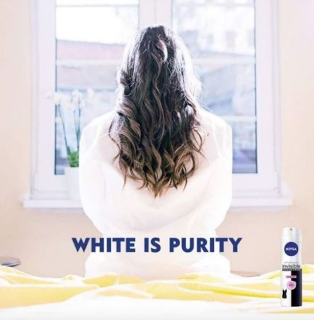 Nivea apologizes for 'white is purity' ad deemed racist