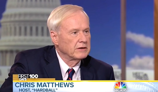 MSNBC's Chris Matthews undergoes prostate cancer surgery