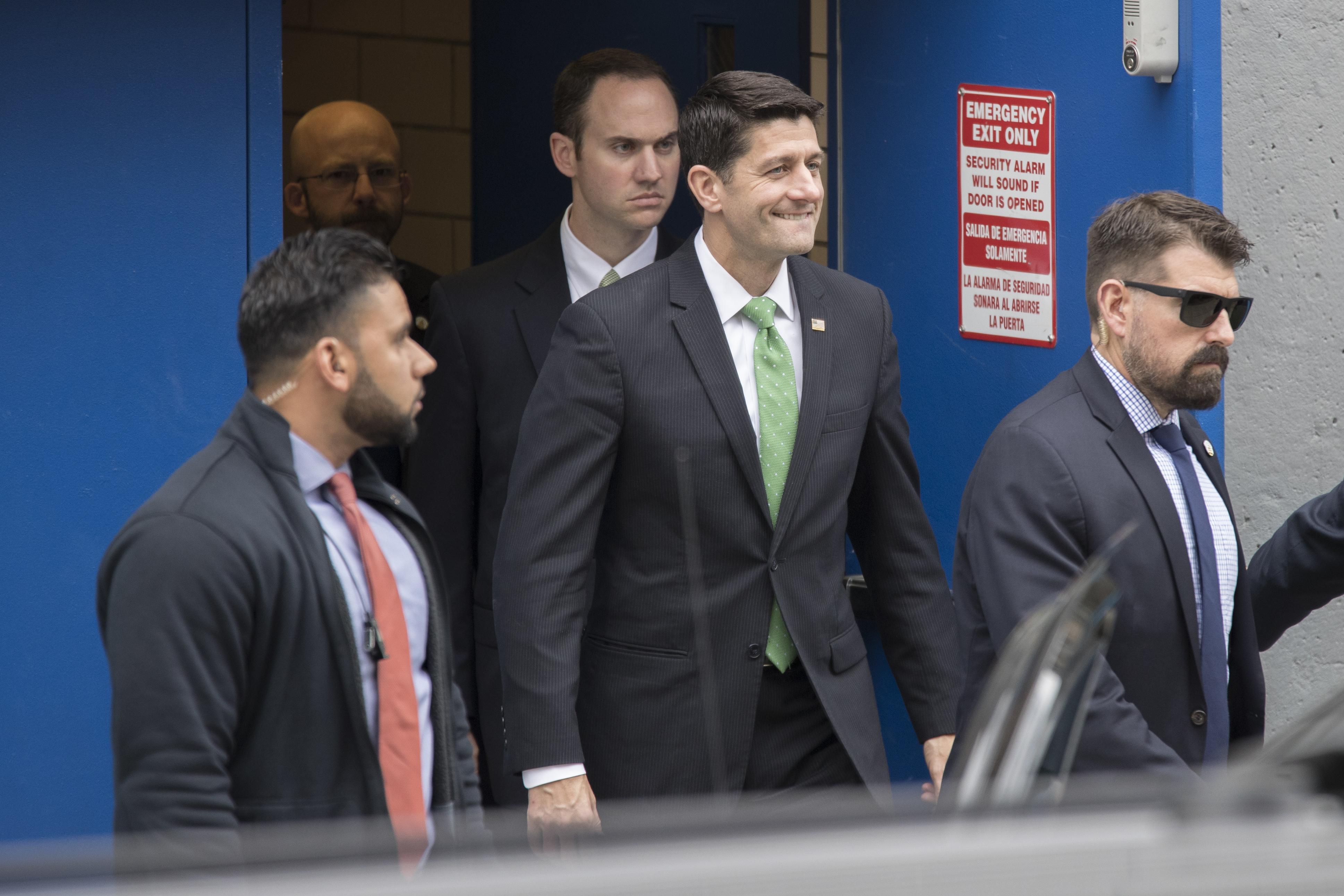 Paul Ryan visits New York school run by charter advocate - Washington Times