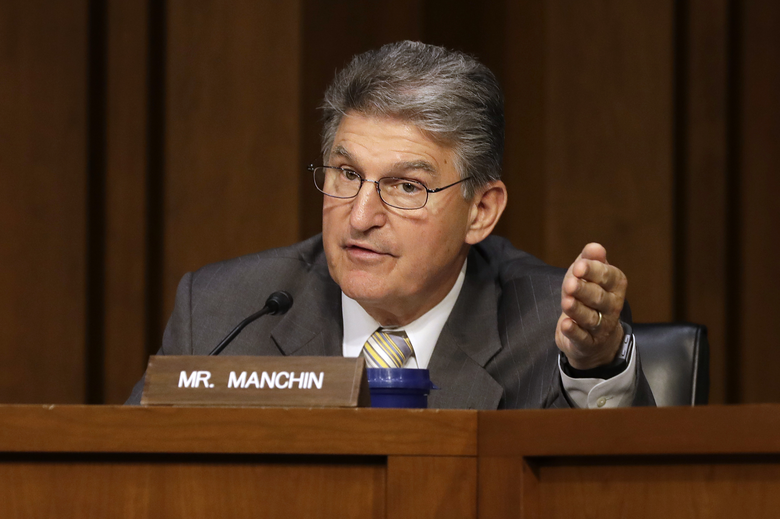 Image result for Joe Manchin associated press