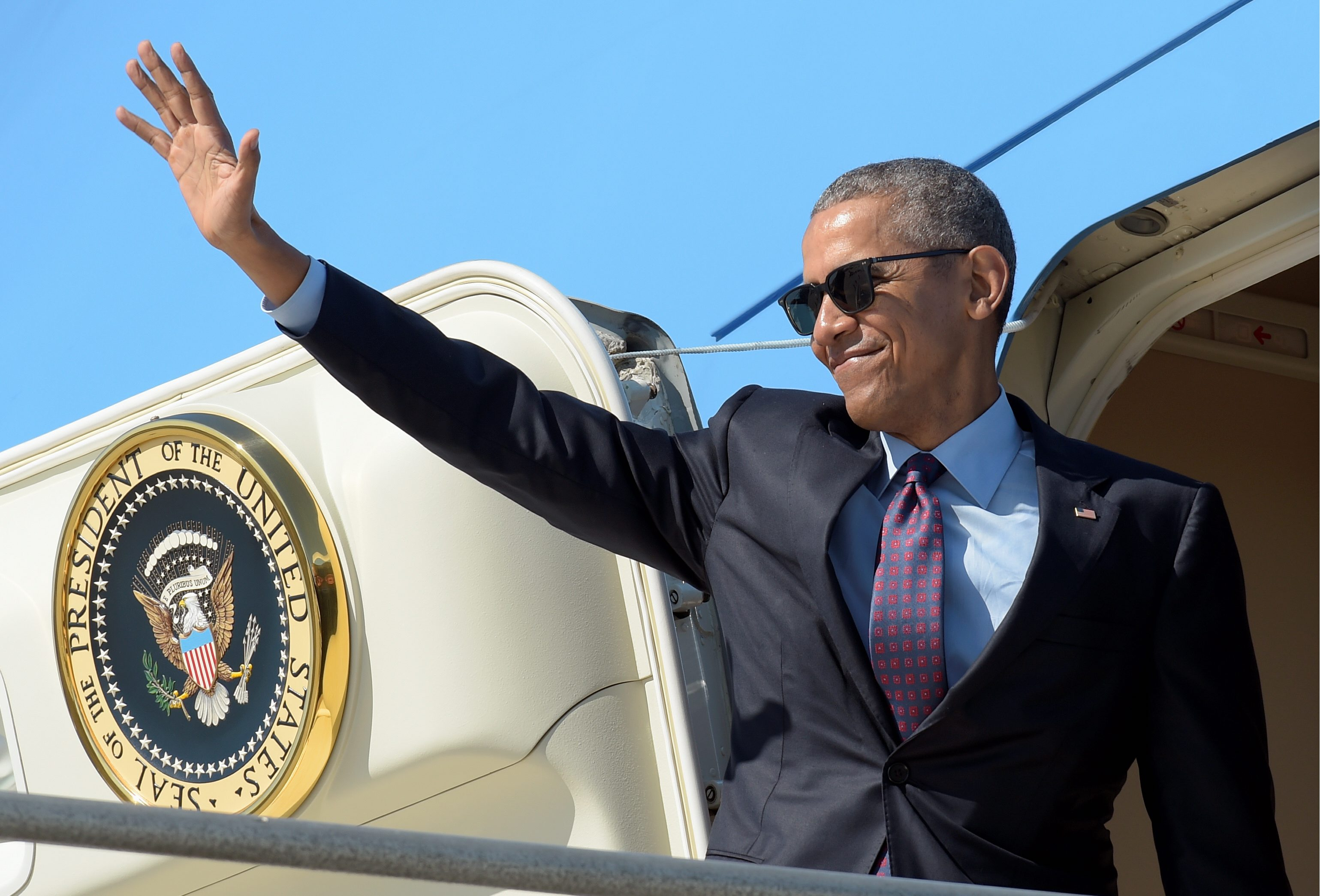 Inside the Beltway: The final Obama travel tab on Air Force One ...