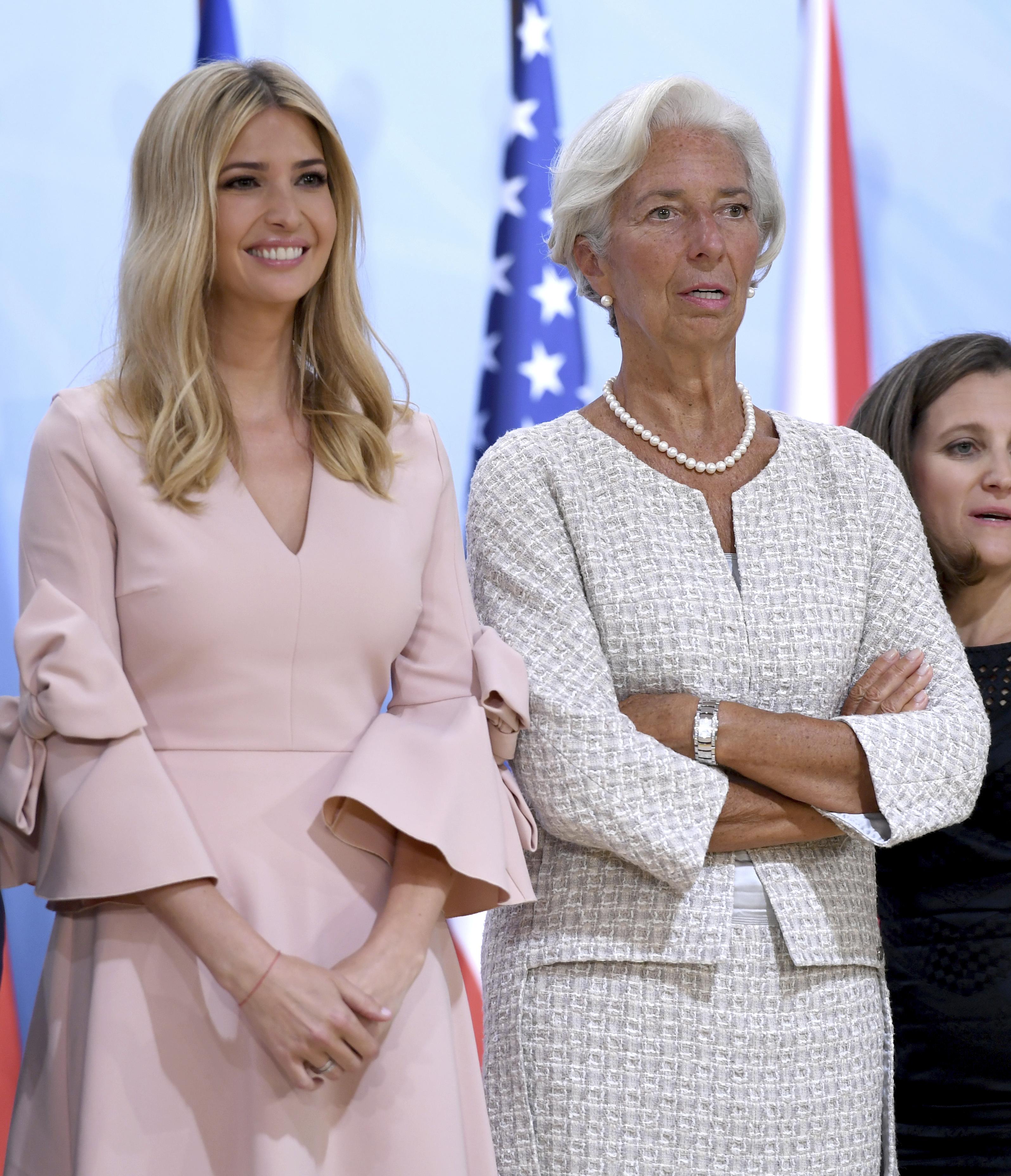 b6a7c1bef9b12 Joan Walsh slams Ivanka Trump's 'girlie' G-20 attire: 'Not a dress that's  made for work' - Washington Times