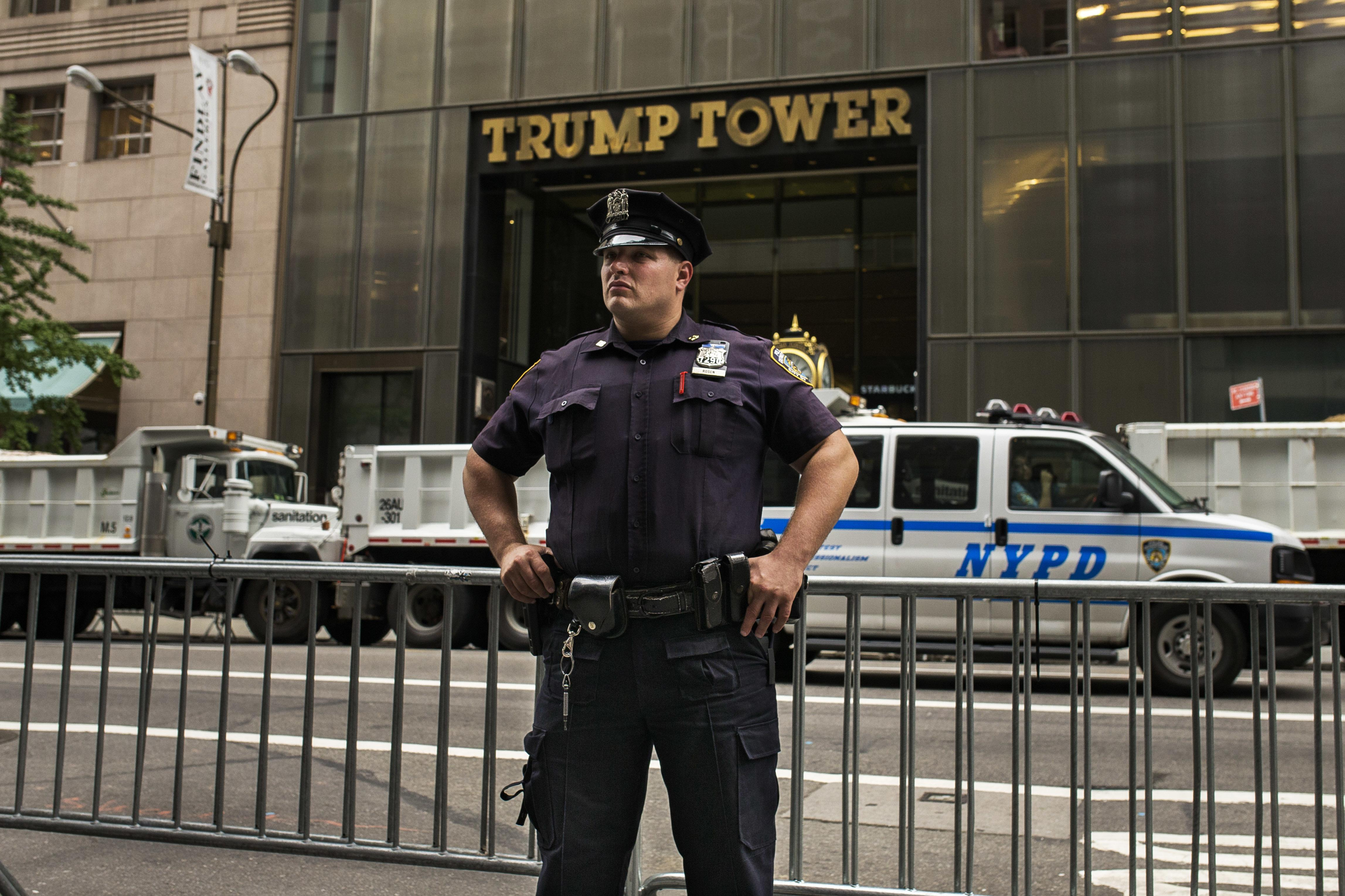 Petition to rename Trump Tower street after Obama hits legal snag