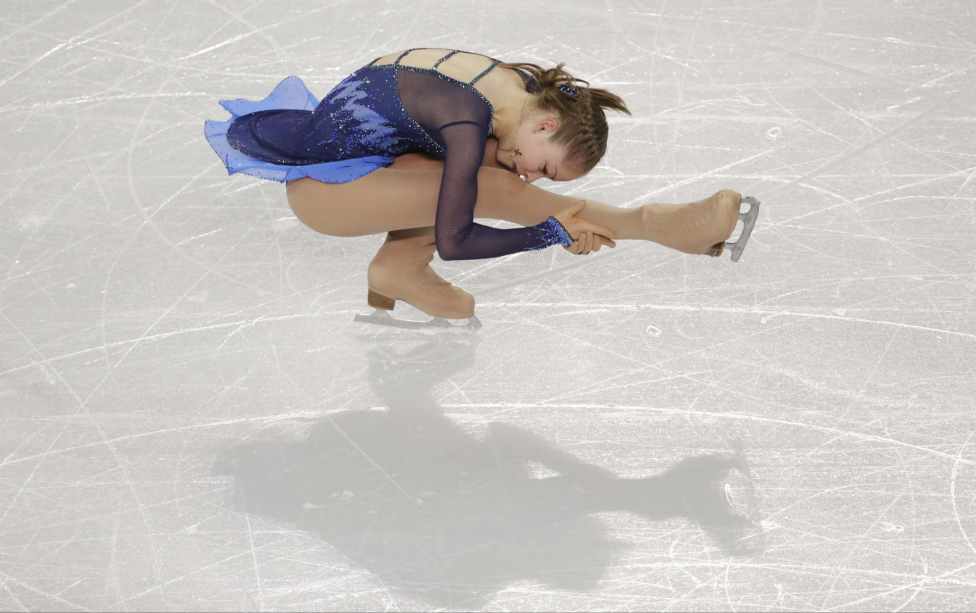 Yulia Lipnitskaya explained the reasons for her departure from the sport 13.09.2017 98