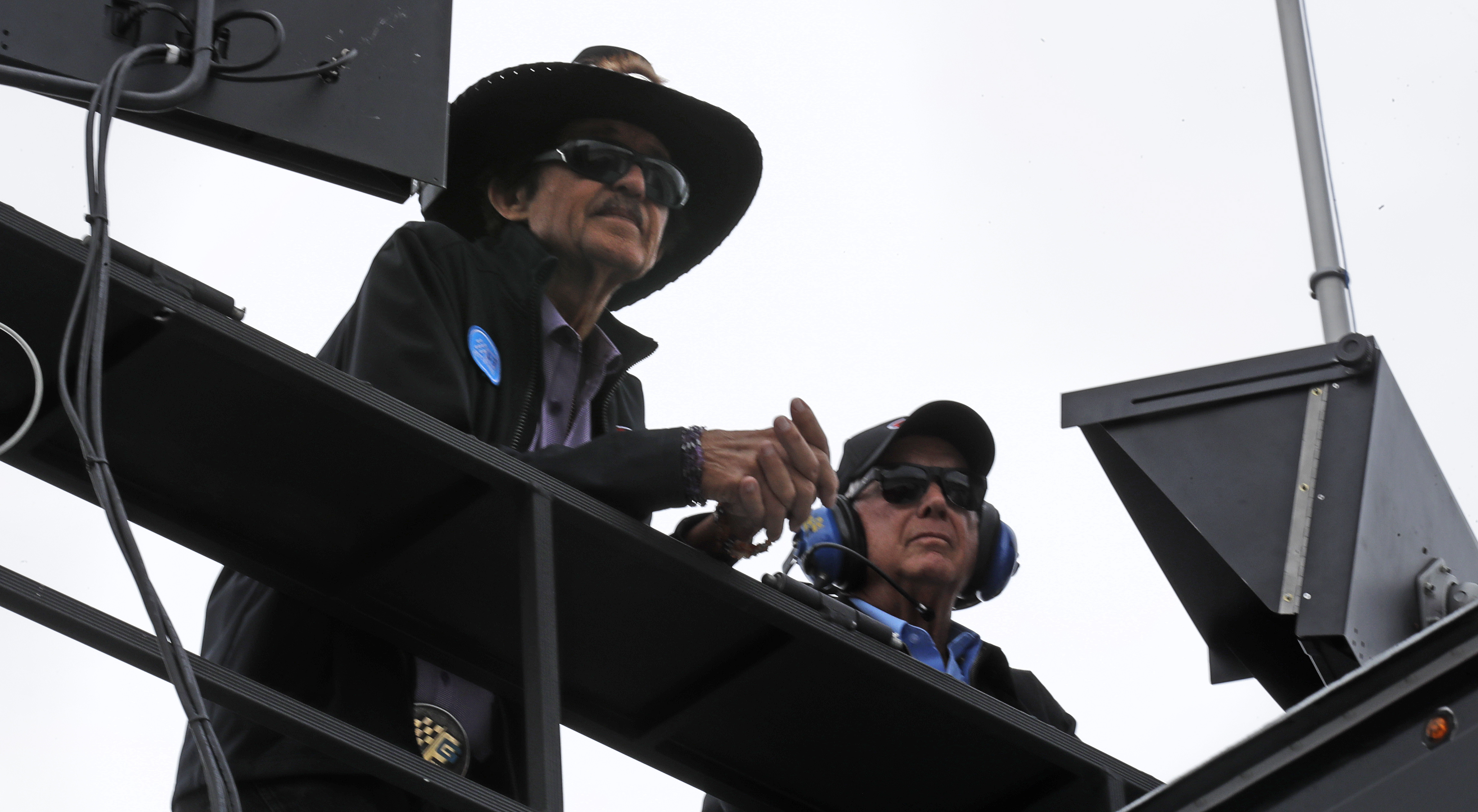 NASCAR draws line on protesting during national anthem