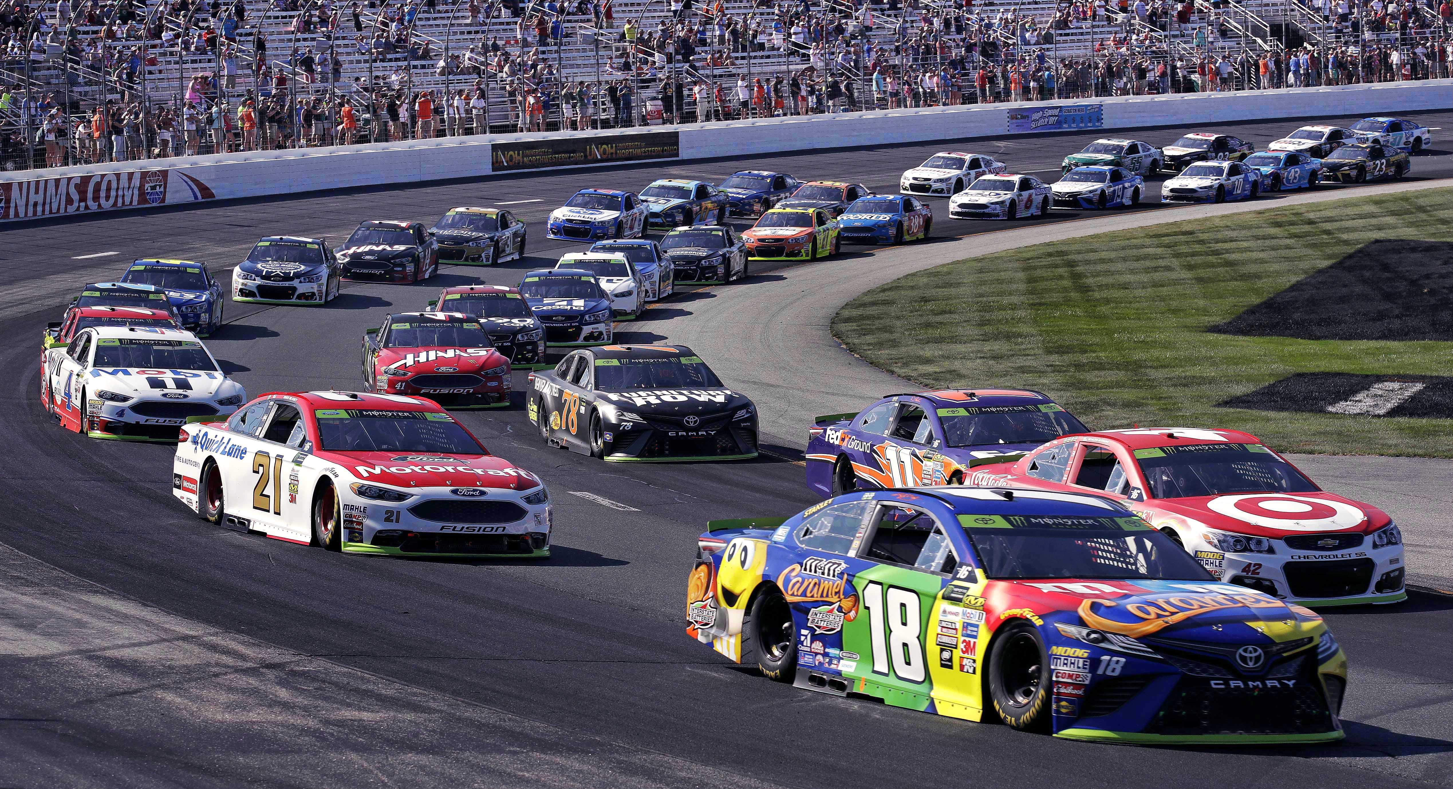Trump earns his highest approval rating among NASCAR fans, poll finds