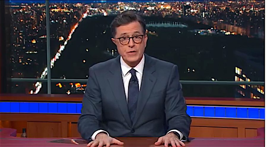 Stephen Colbert: Trump threw supporters under the bus by disavowing 'send her back' chant