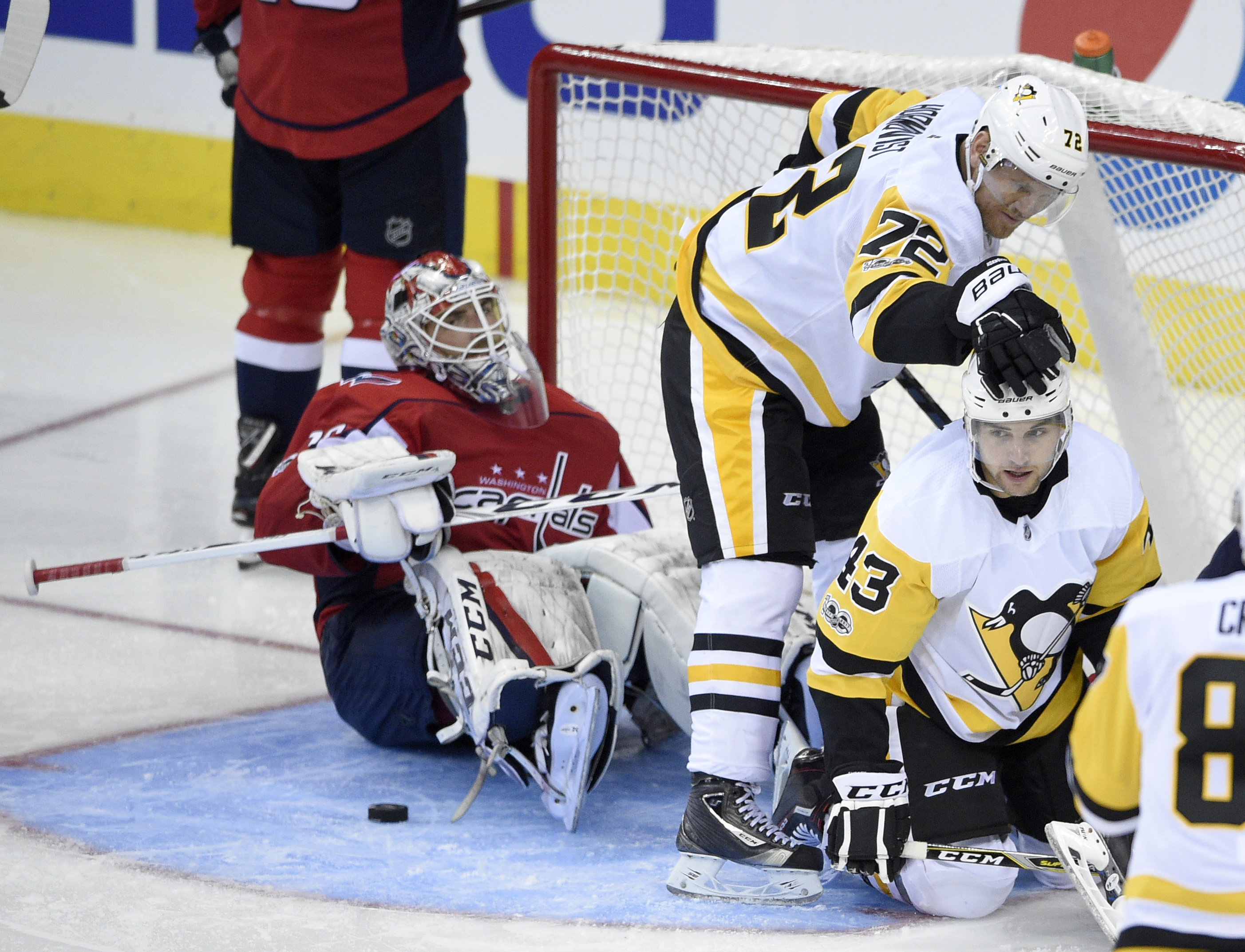 1c917f2eab3 Penguins top penalty-plagued Capitals in playoff rematch - Washington Times