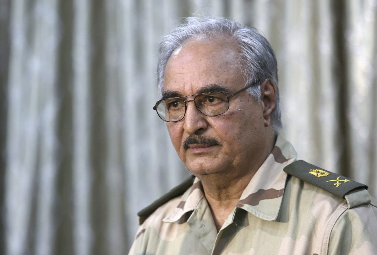Tensions flare in Libya after Haftar's forces claim to target Turkish drones