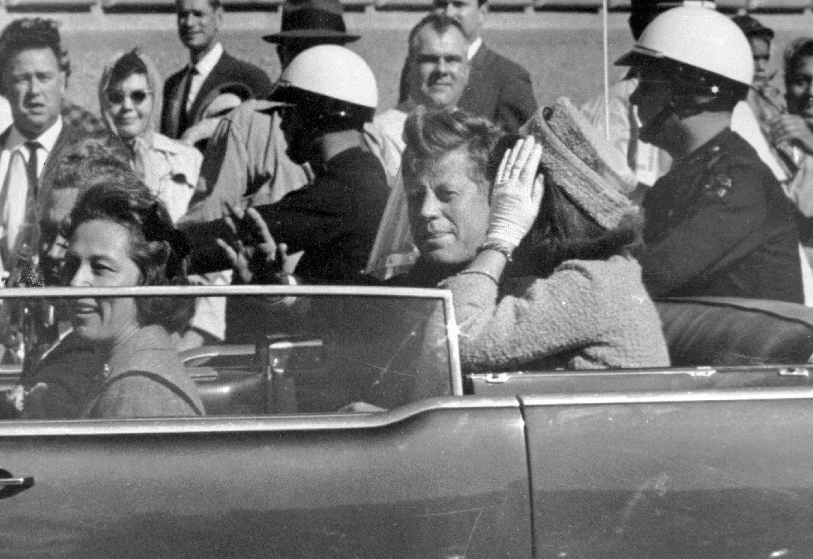 Donald Trump says he won't block release of secret JFK assassination files