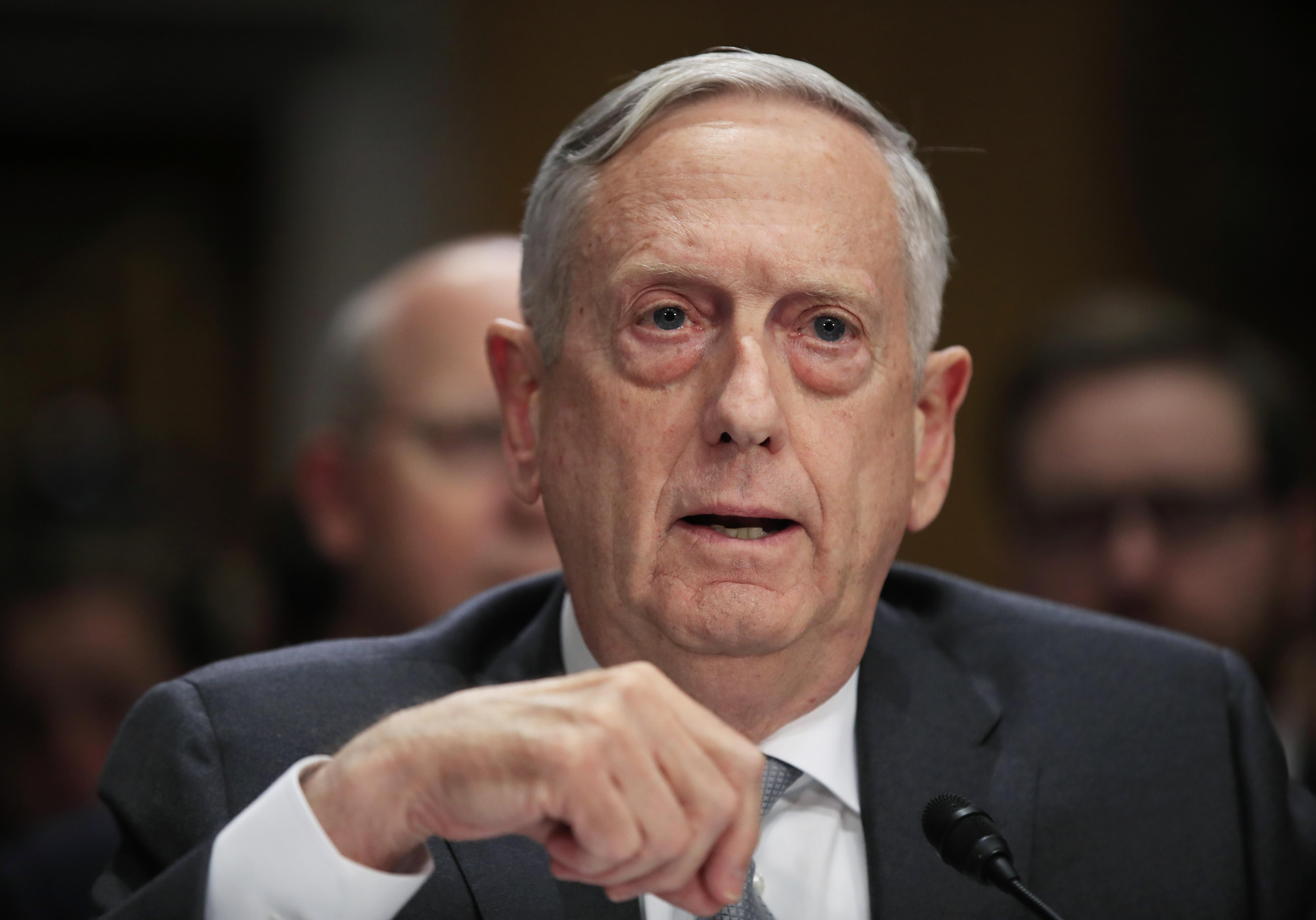 James Mattis Bio News s Washington Times