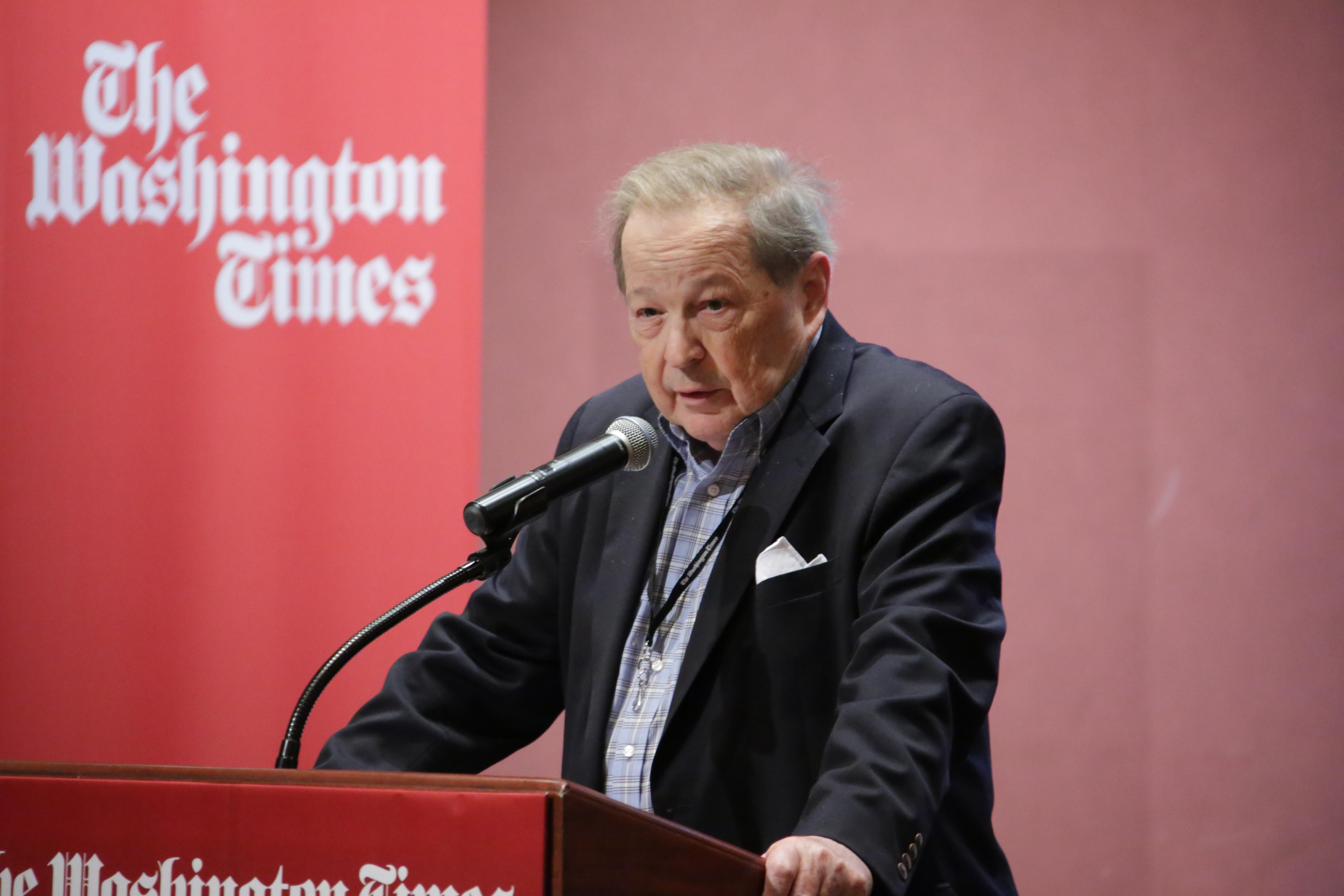 Charles Hurt at The Washington Times - Cover