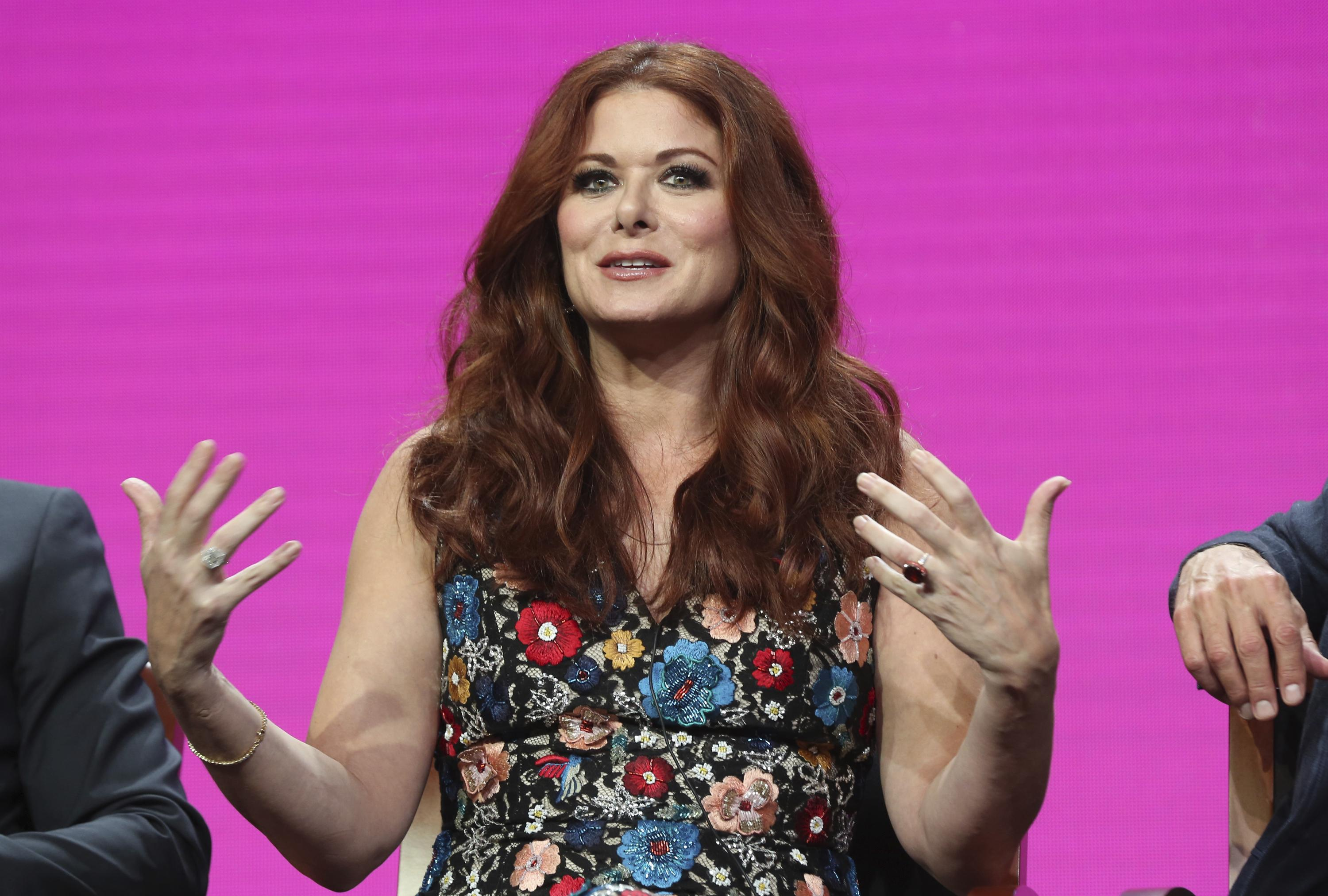 Trump calls Debra Messing 'a McCarthy style Racist' over blacklisting
