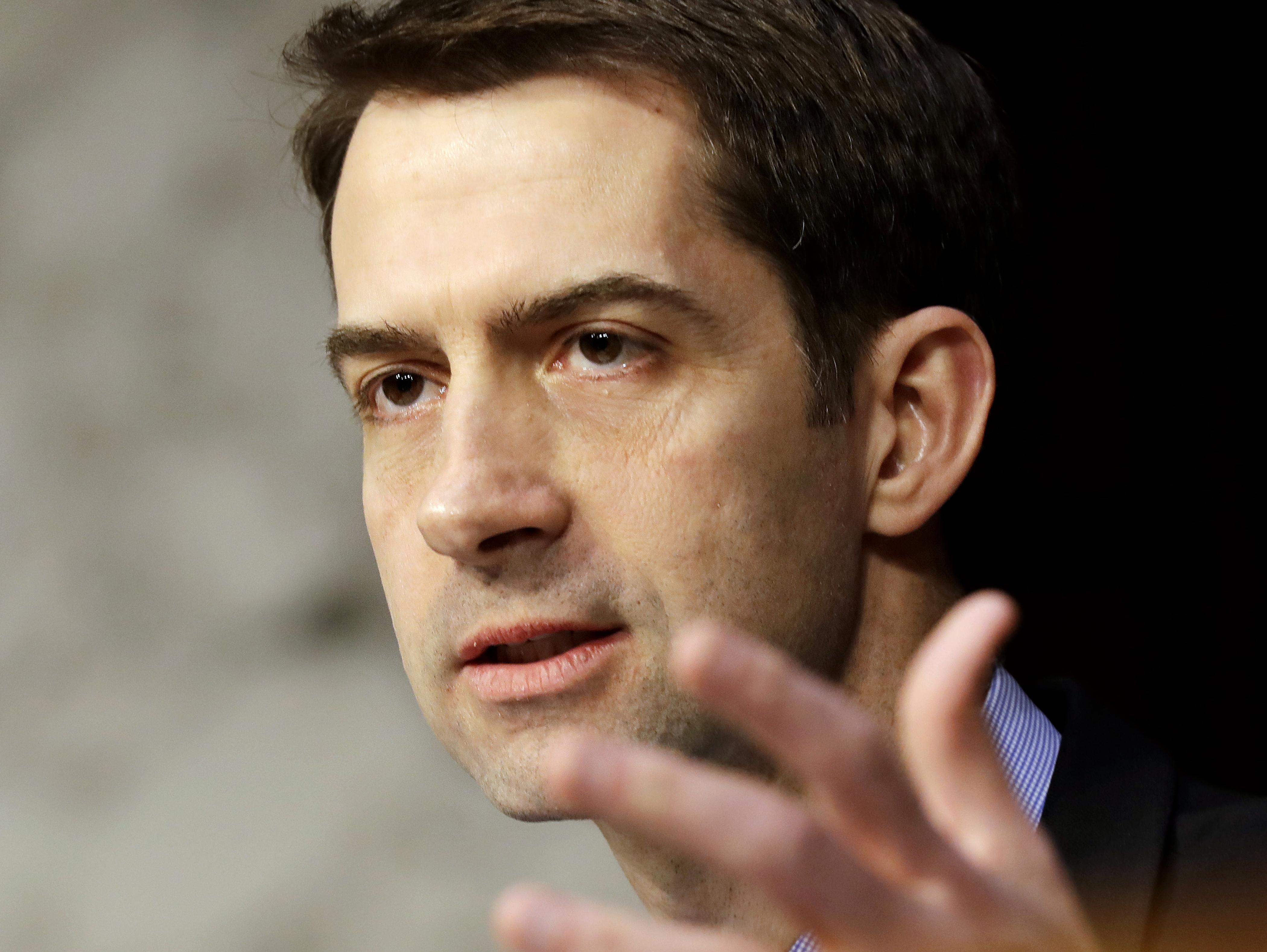 Tom Cotton: Trump 'not dismissing' U.S. troops' Iran attack injuries