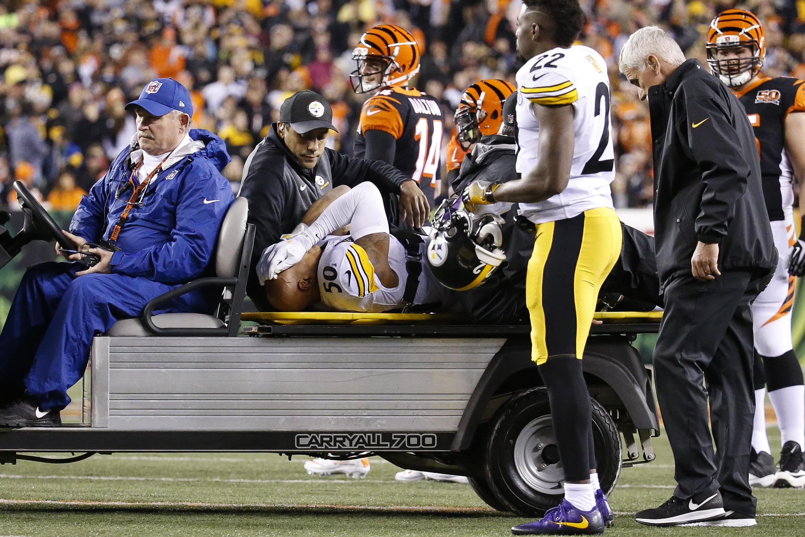'It's just weird'; Steelers rallying around injured Shazier