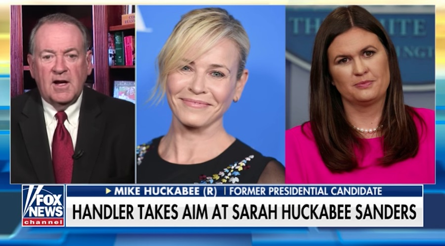 Mike Huckabee shreds 'bitter,' 'lonely' Chelsea Handler for calling his daughter a 'harlot'