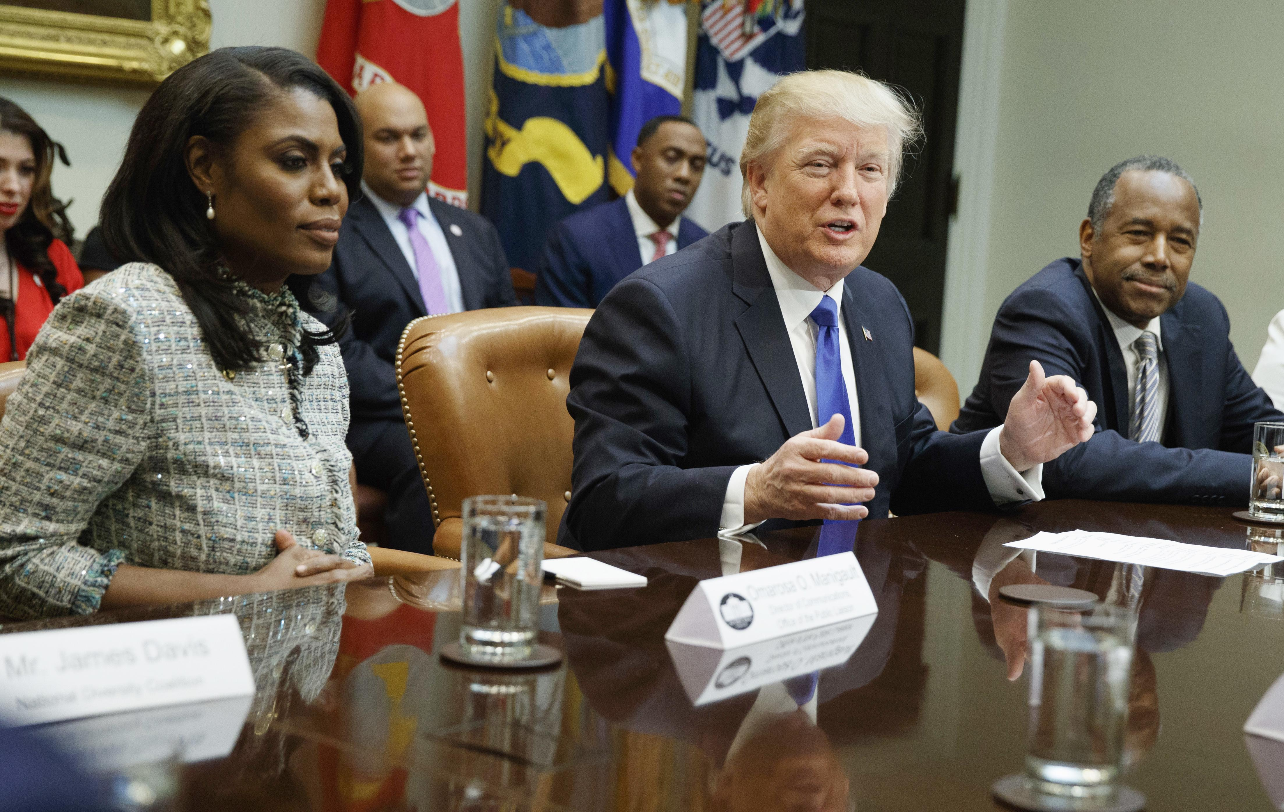 Trump rips 'disgusting' Omarosa, says he's suing aide for violating 'confidentiality' agreement