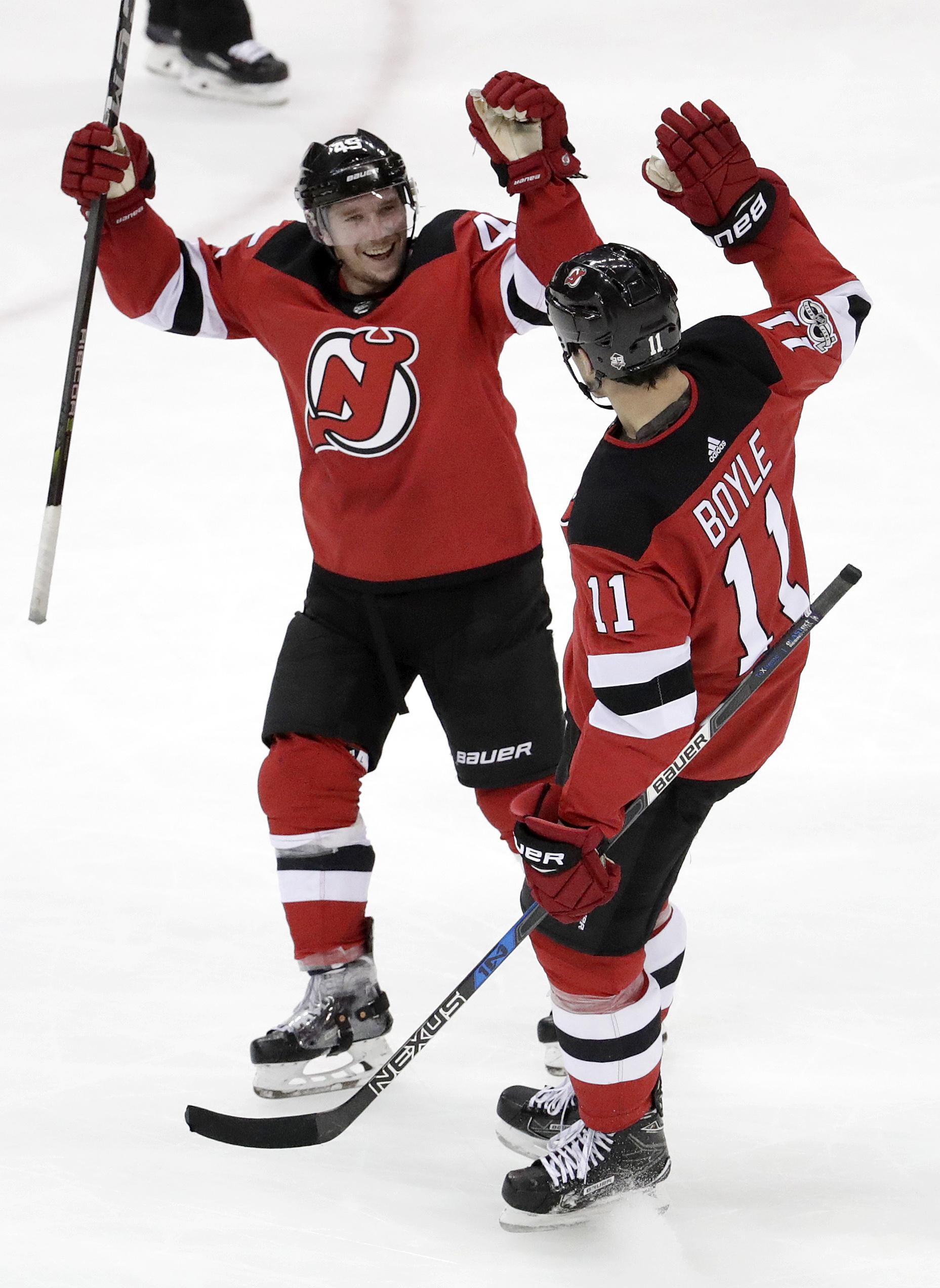 Brian Boyle scores twice to help Devils beat Stars 5-2. - Washington Times df9ef1b5a