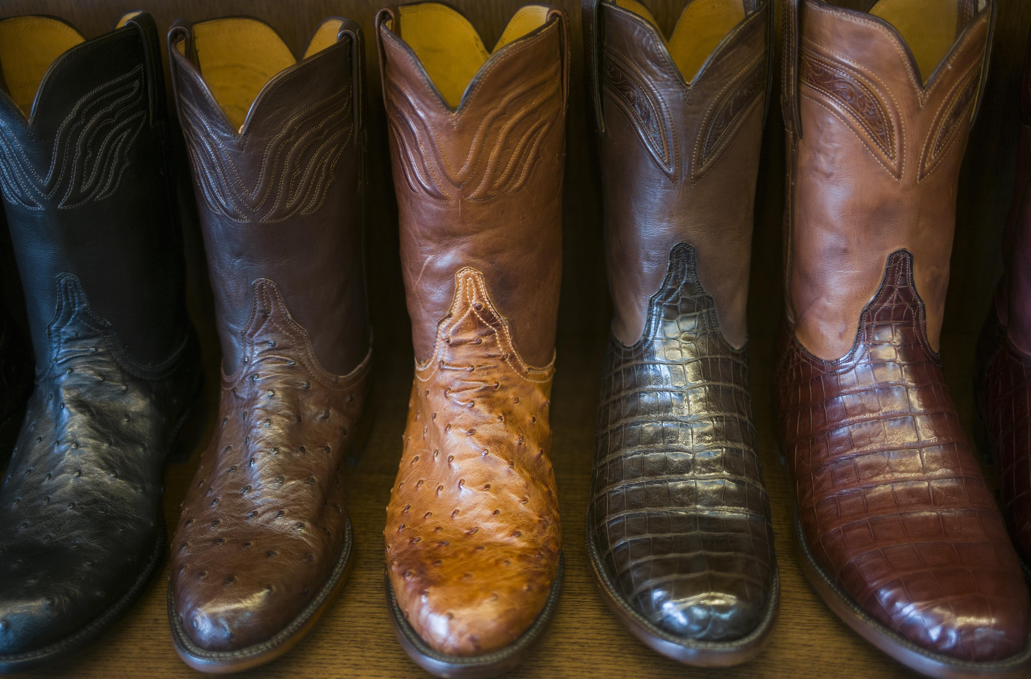 bea5214b67a Cowboy boots are as much a part of San Antonio as the Alamo ...