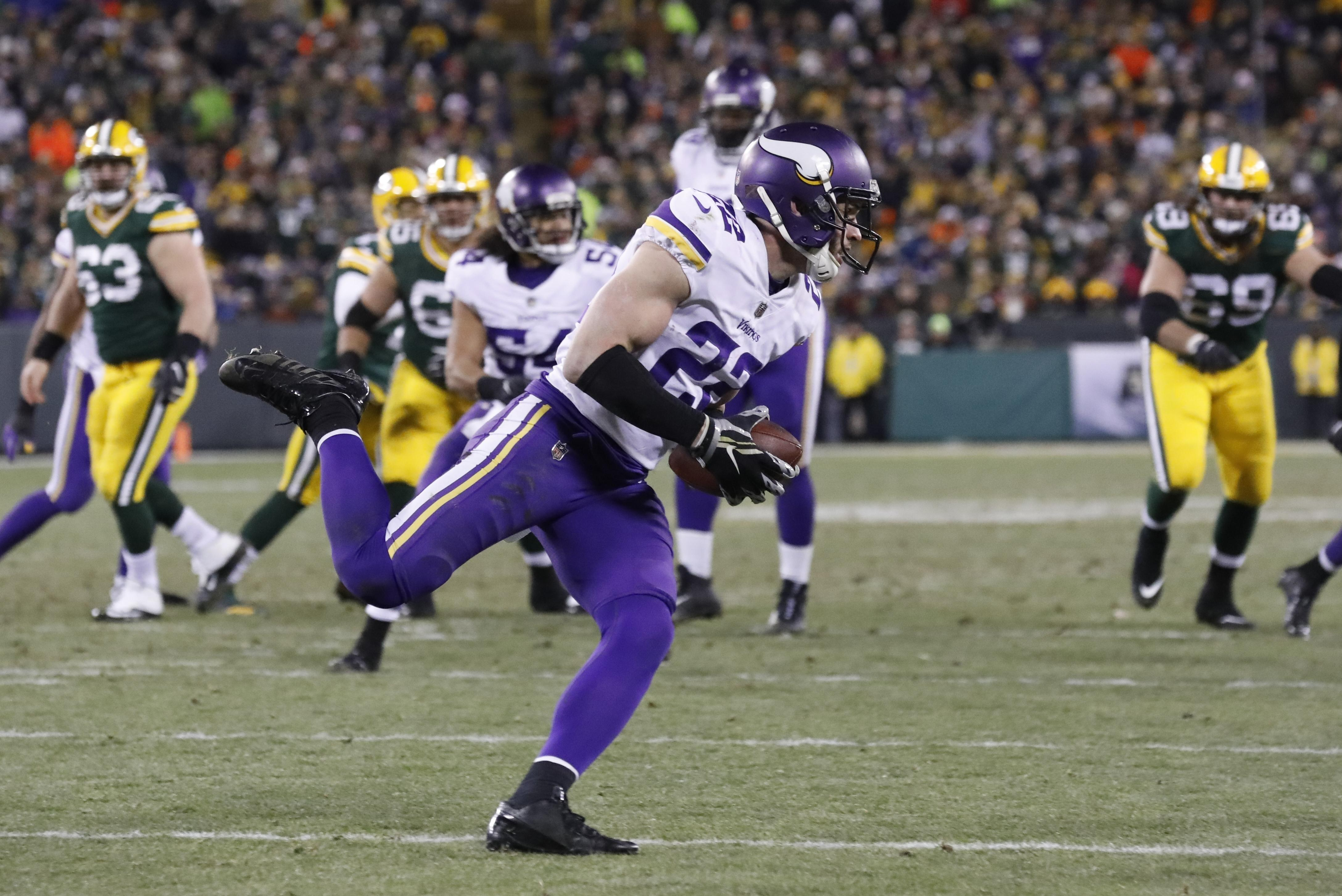037d45767 The strong safety  Harrison Smith steadies Vikings defense - Washington  Times