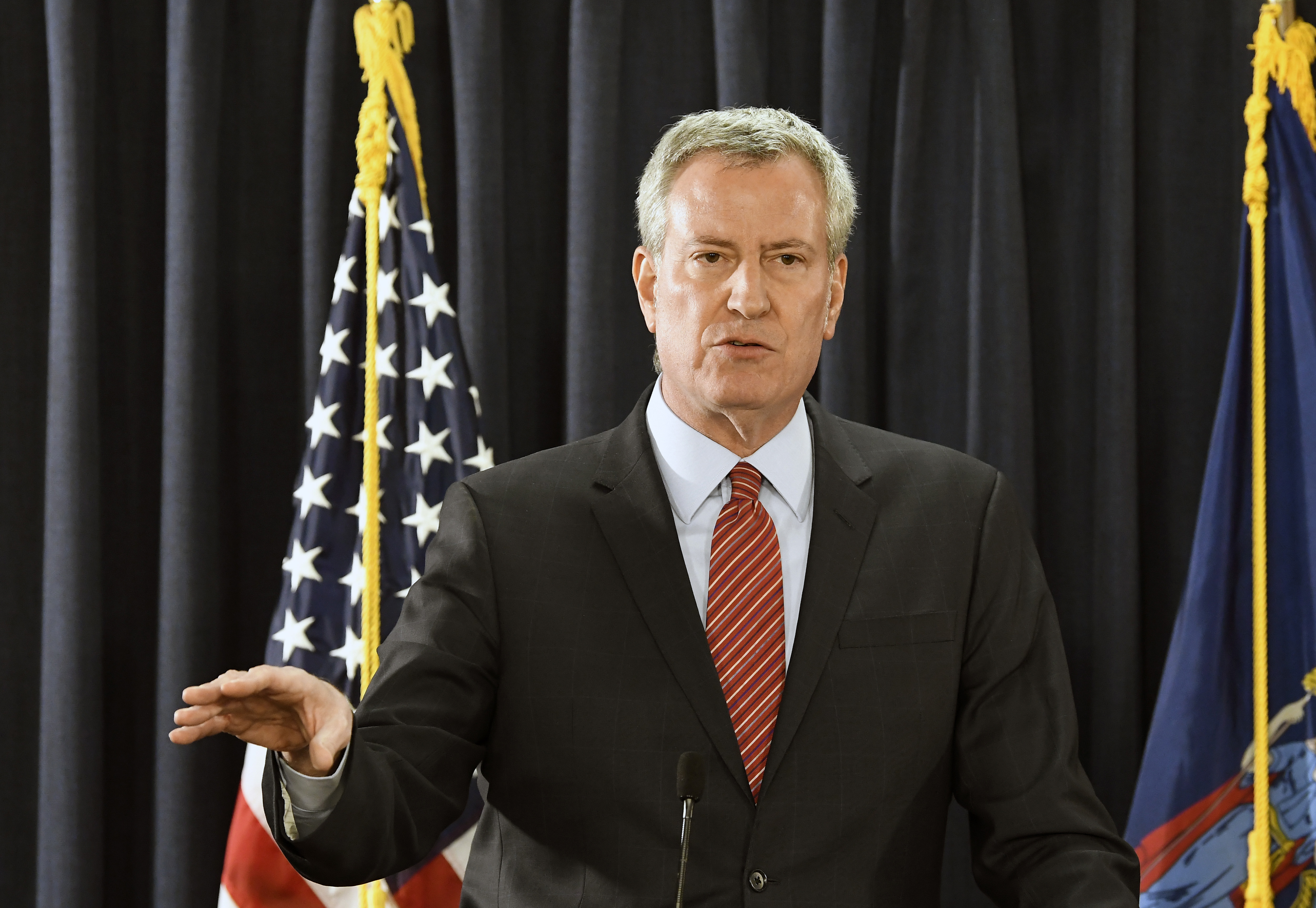 Bill de Blasio divests New York pensions, sues oil companies for climate change