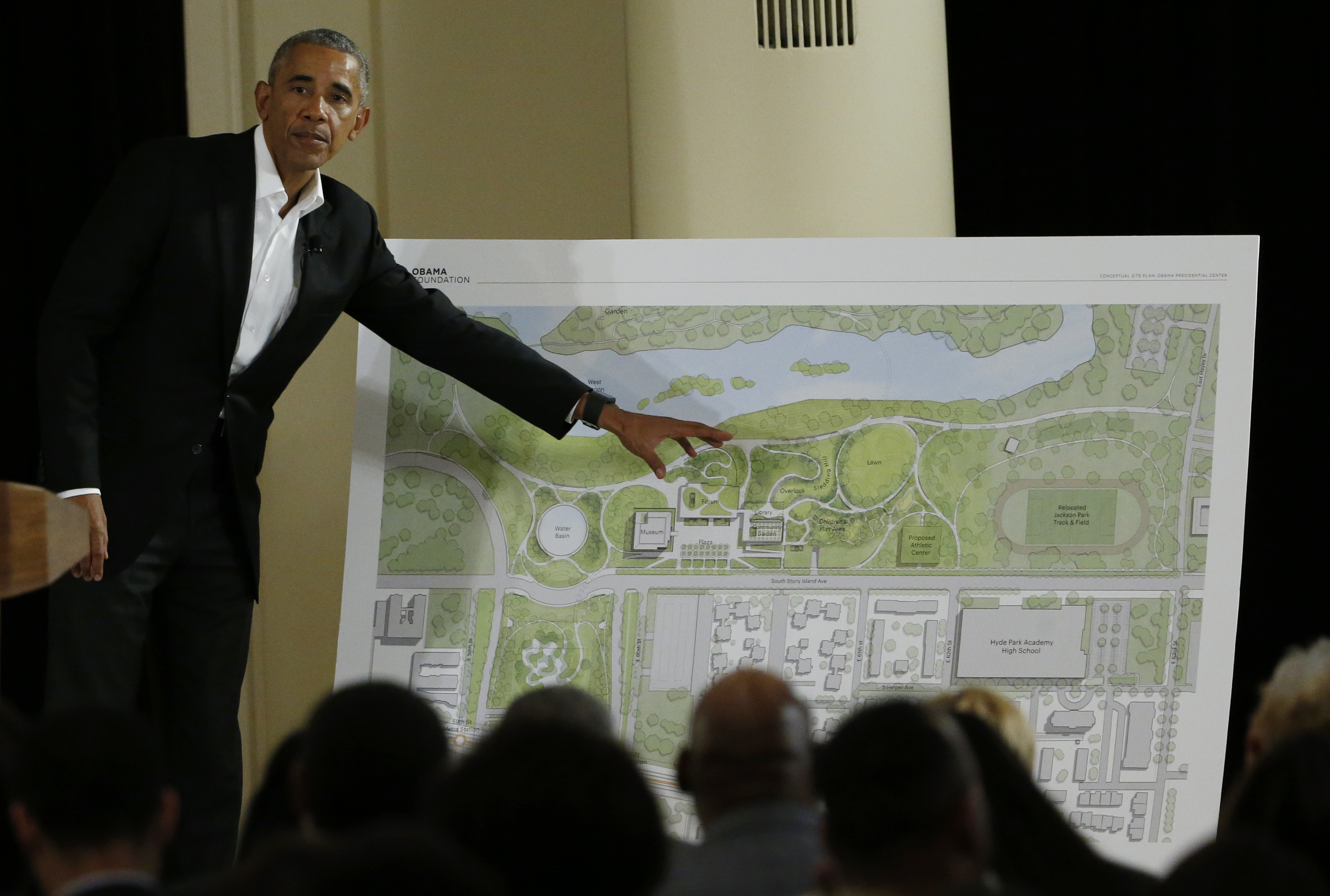 Black people accused of racism for opposing Obama library