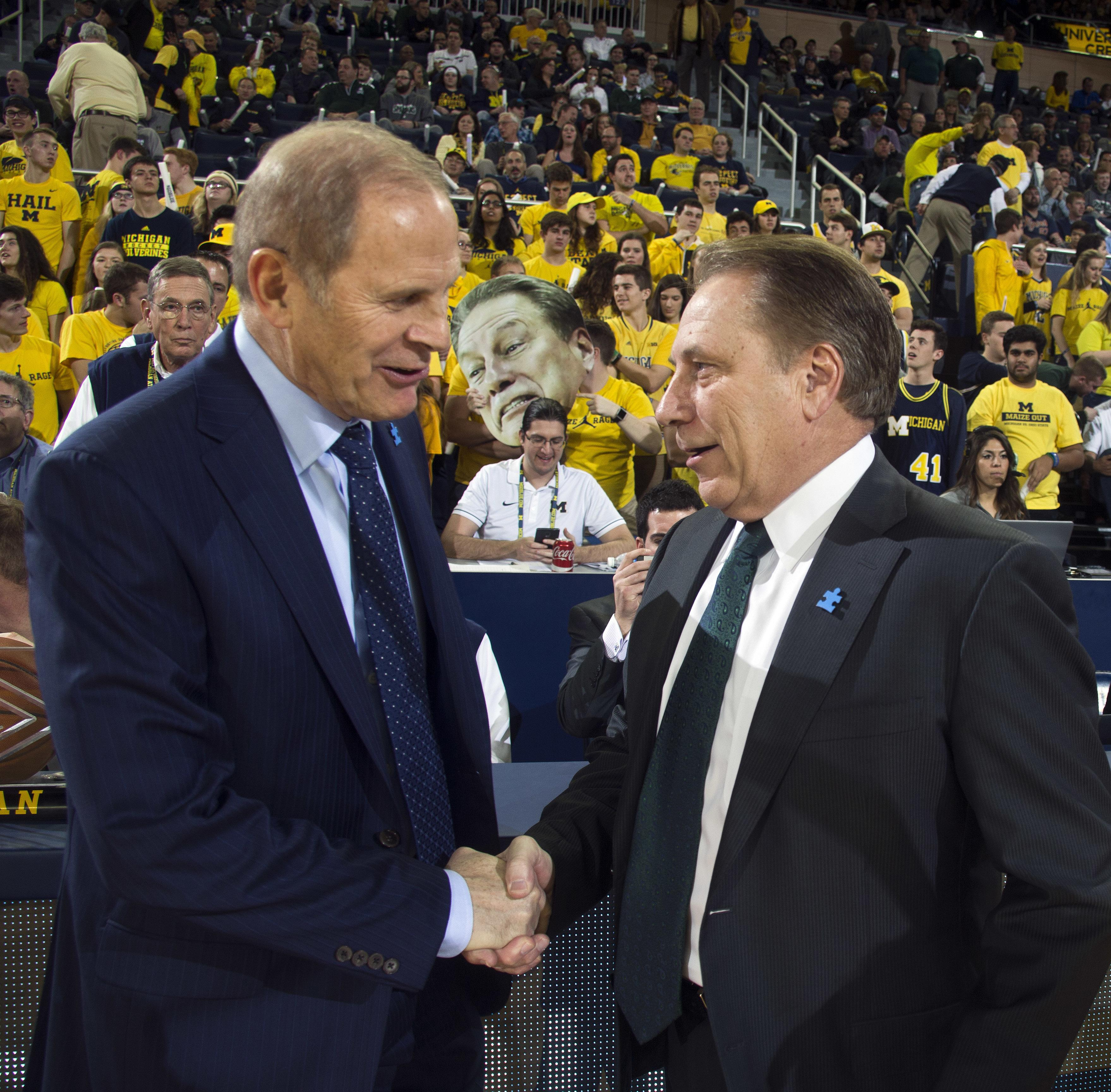 No. 4 Michigan St, Michigan to meet for only scheduled game