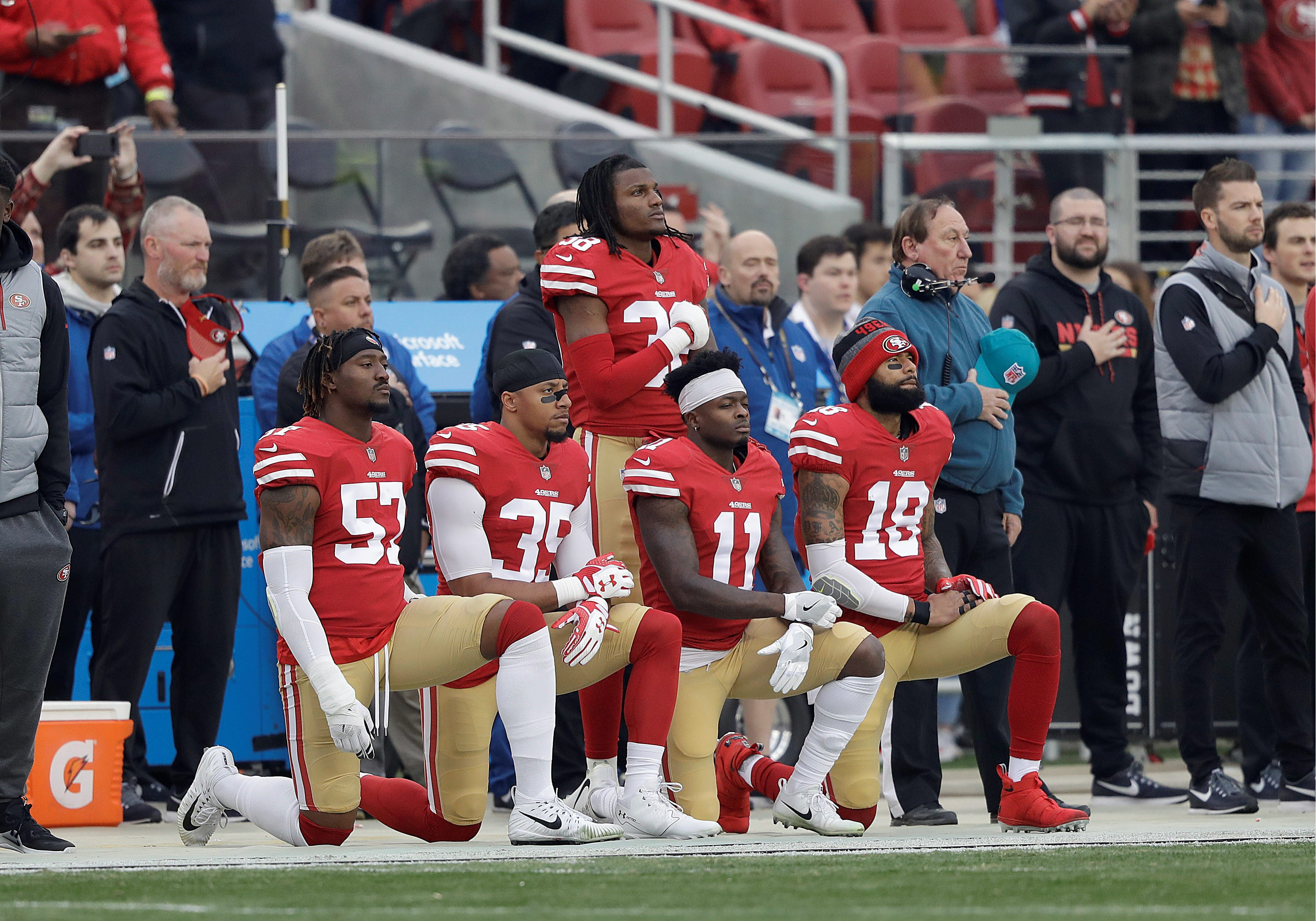 7fb1b46e02bc5 NFL s kneeling comes to abrupt halt  Protesters miss playoffs