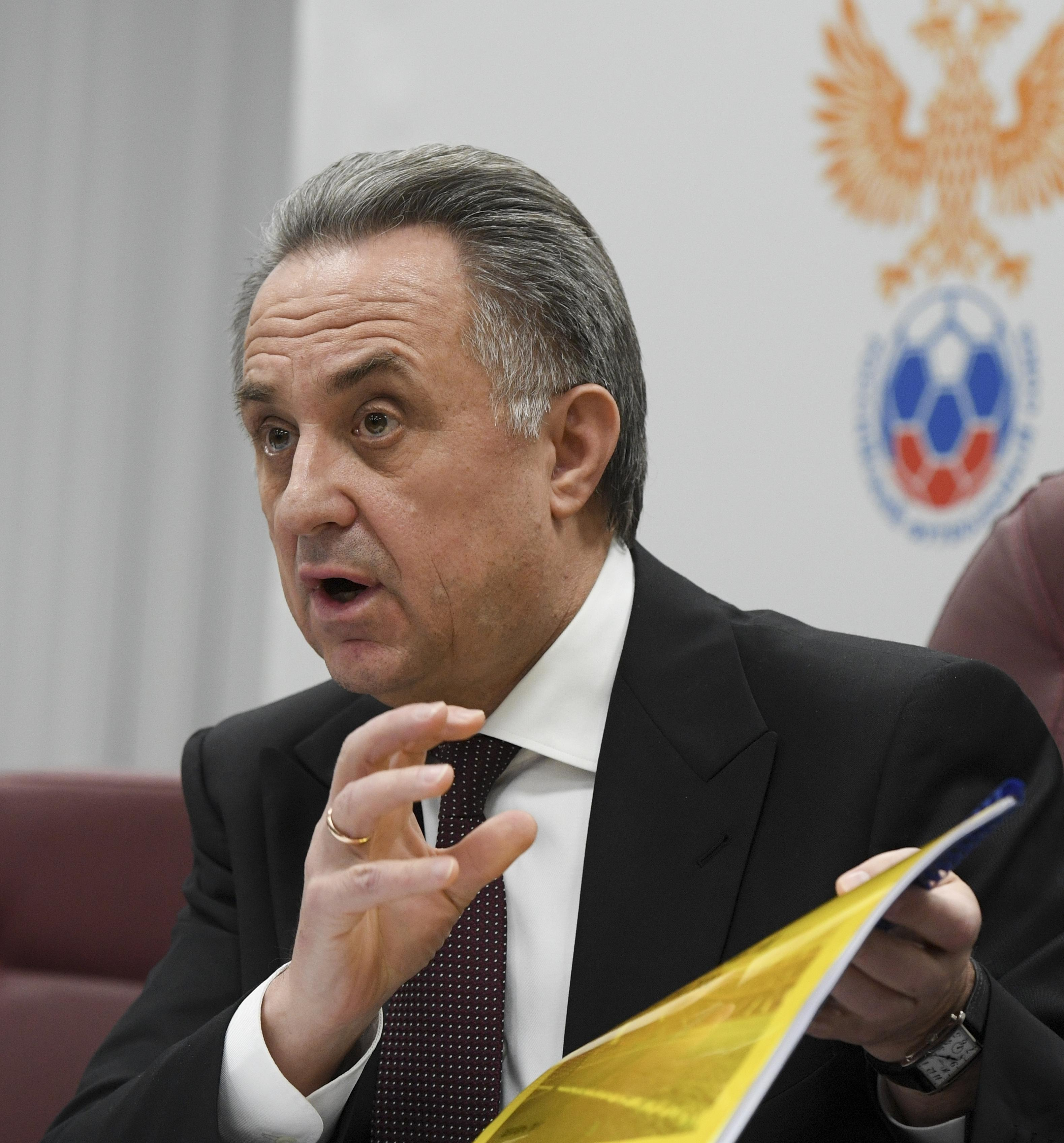 Vitaly Mutko again struck the public with his English 05/29/2015 77