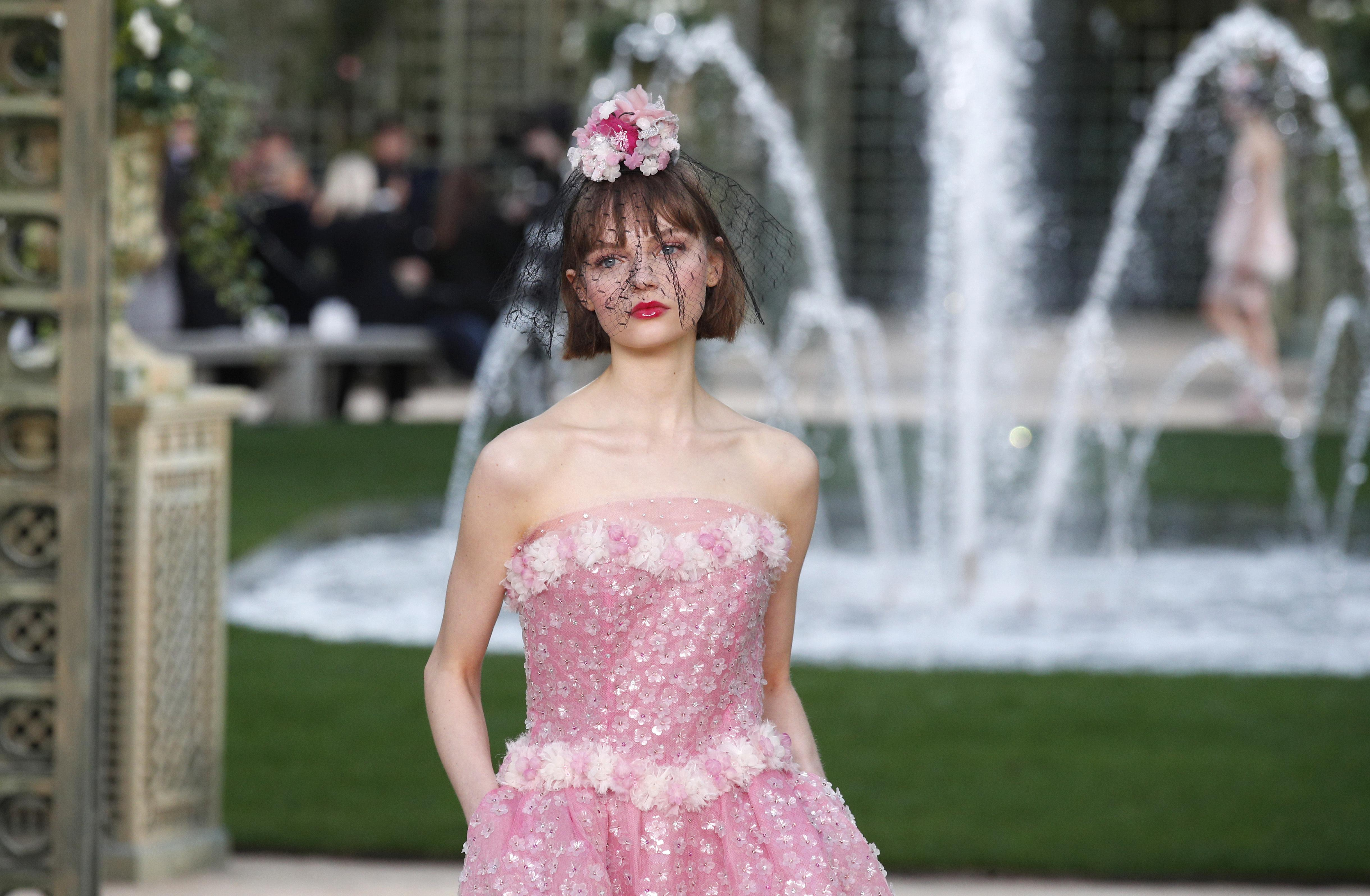 Chanel\'s garden delights as Givenchy designer debuts couture ...