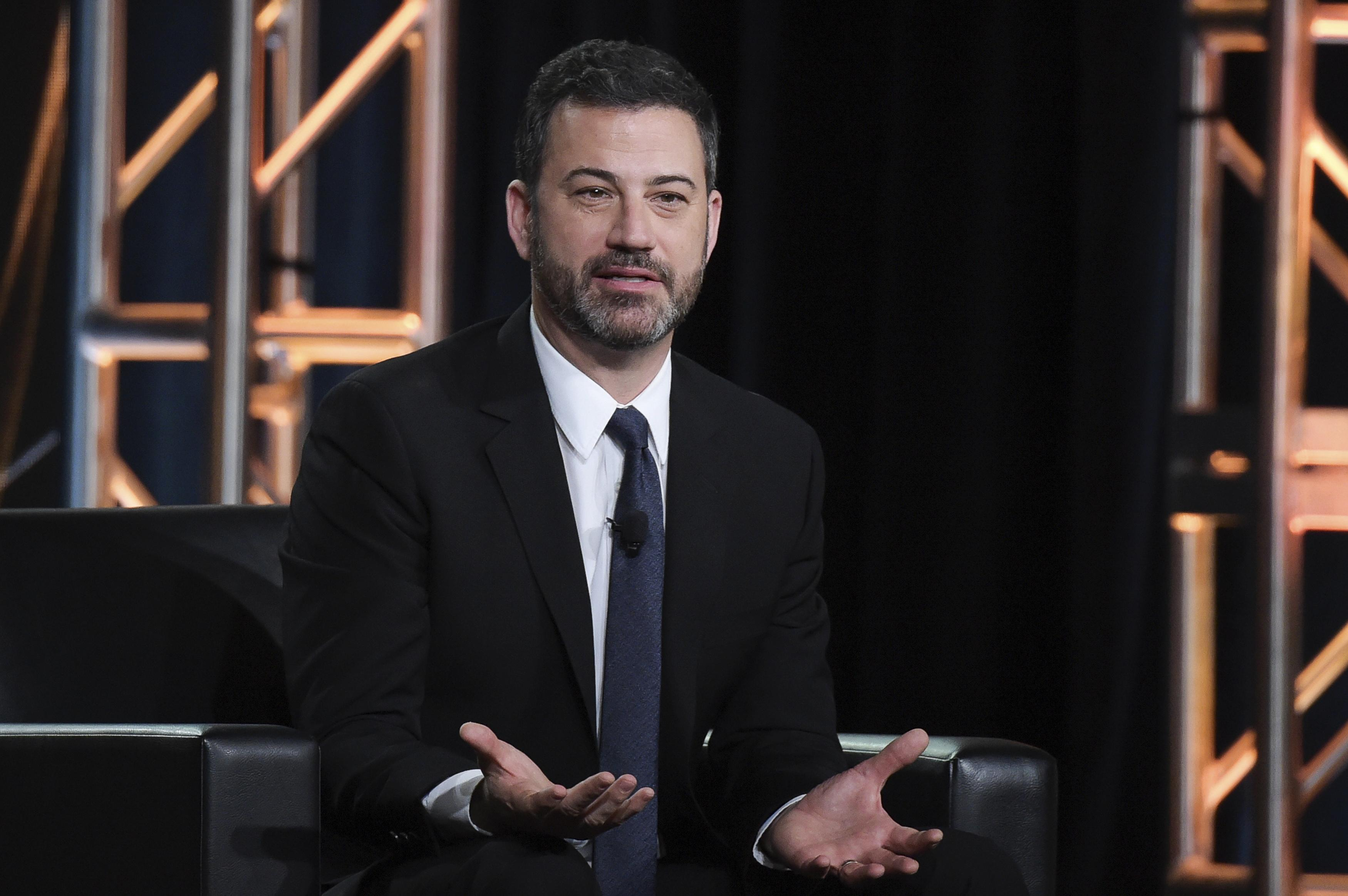 Jimmy Kimmel: Late-night hosts are liberal \'because it requires a ...