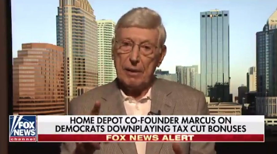Home Depot co-founder Bernie Marcus: Socialism 'robs people of their independence'
