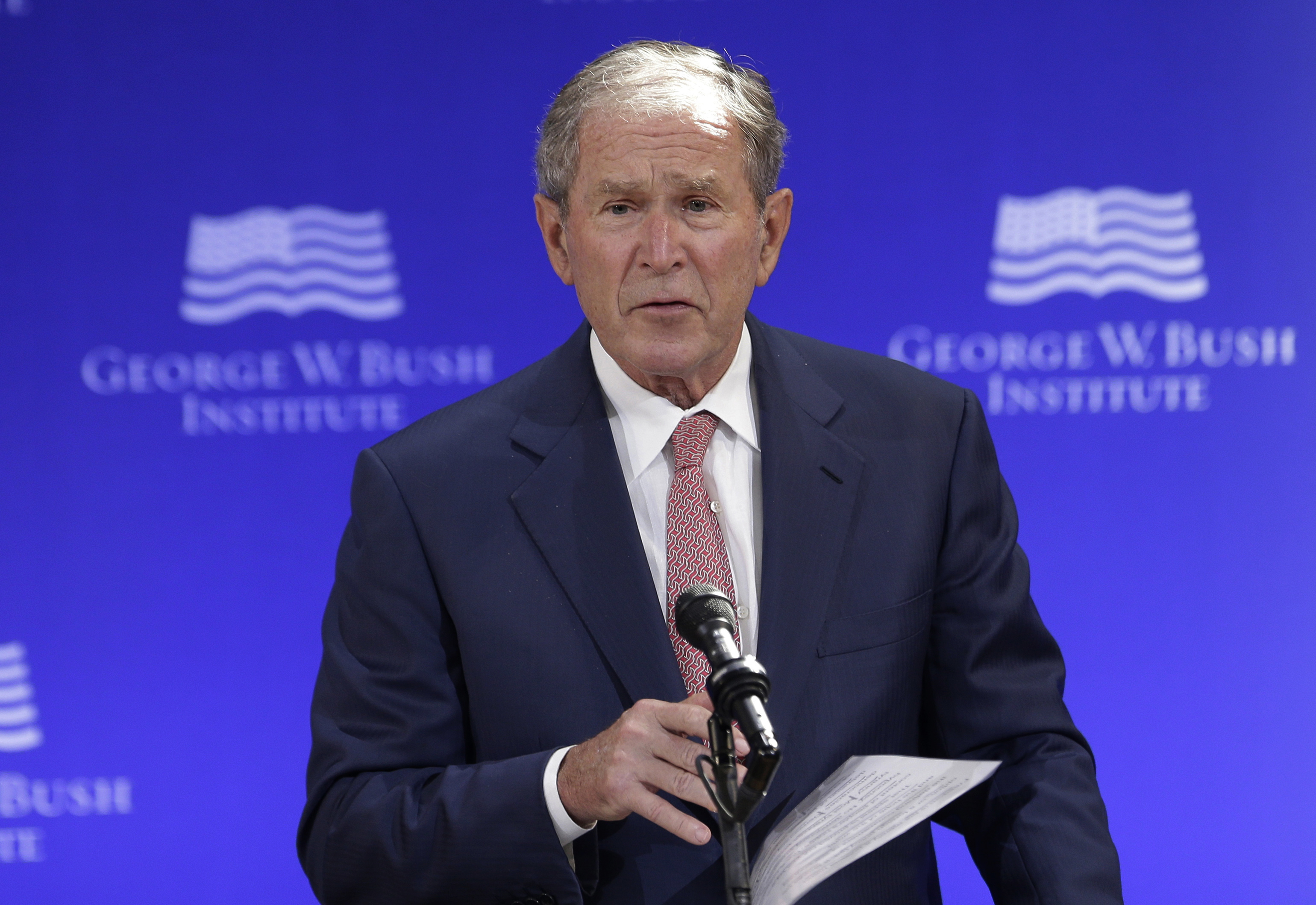 George W. Bush joins organization in charge of developing War on Terro