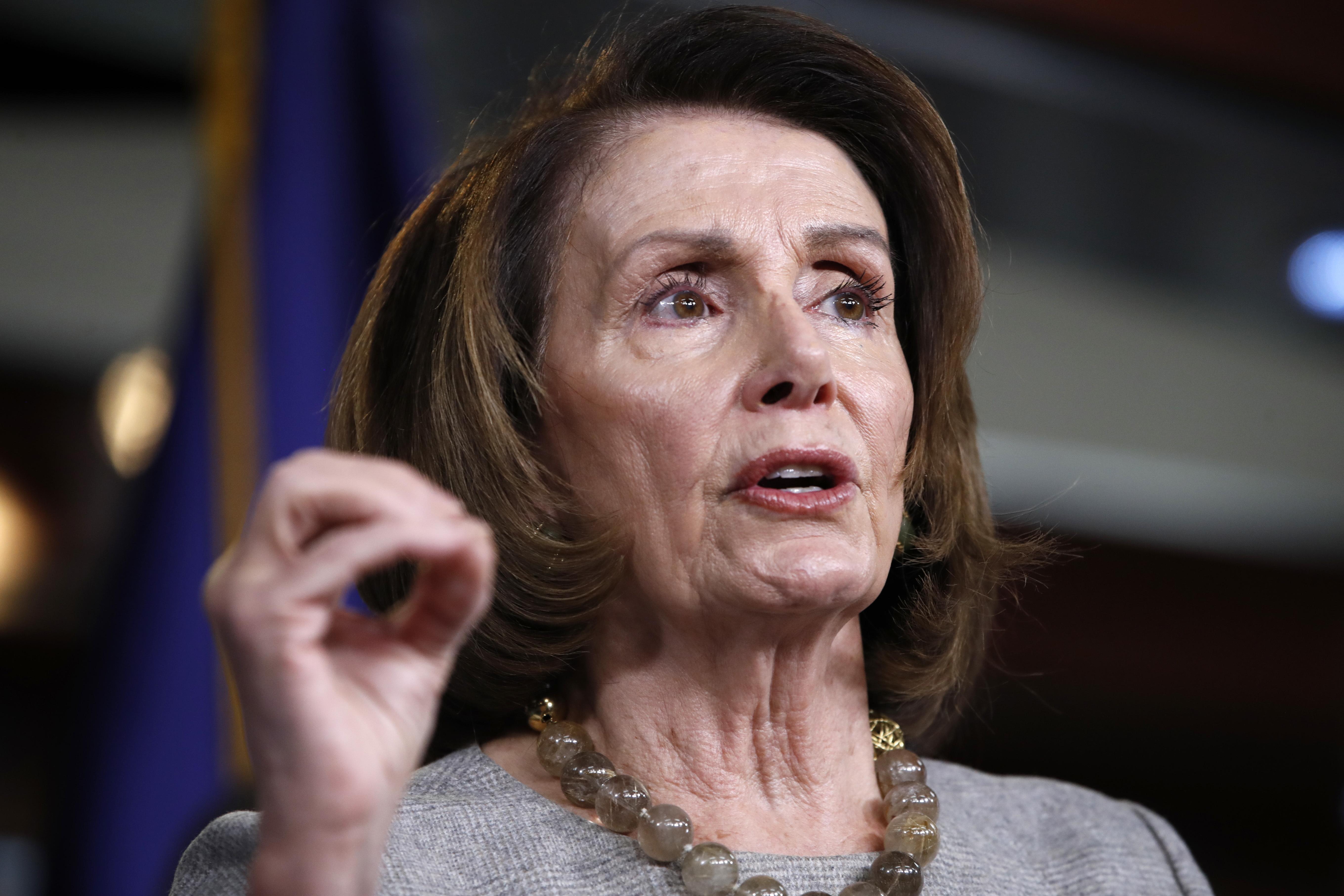 Nancy Pelosi raised nearly $50 million for Democrats in 2017