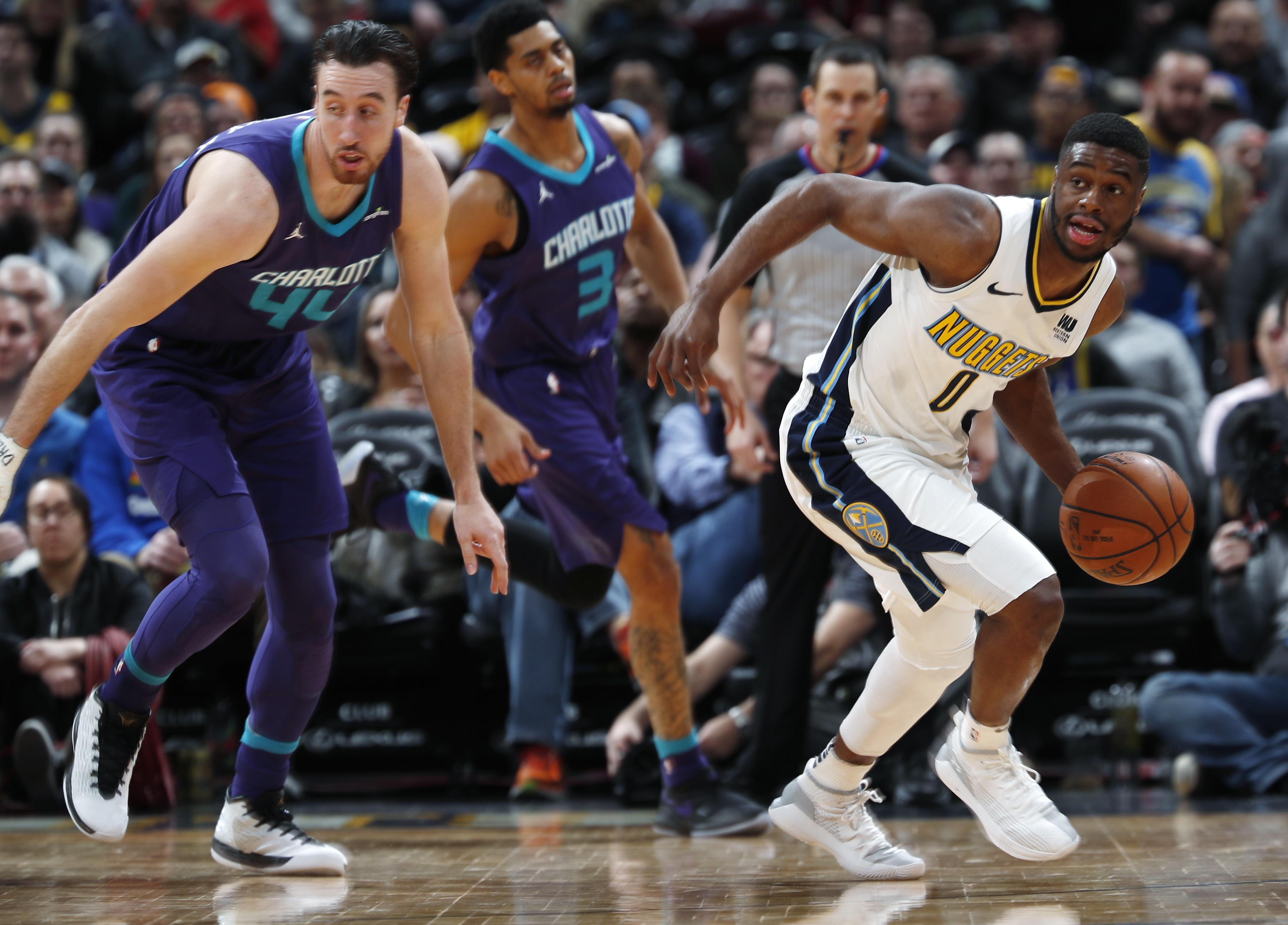 AP sources: Nuggets trade Mudiay, get Harris in 3-team deal