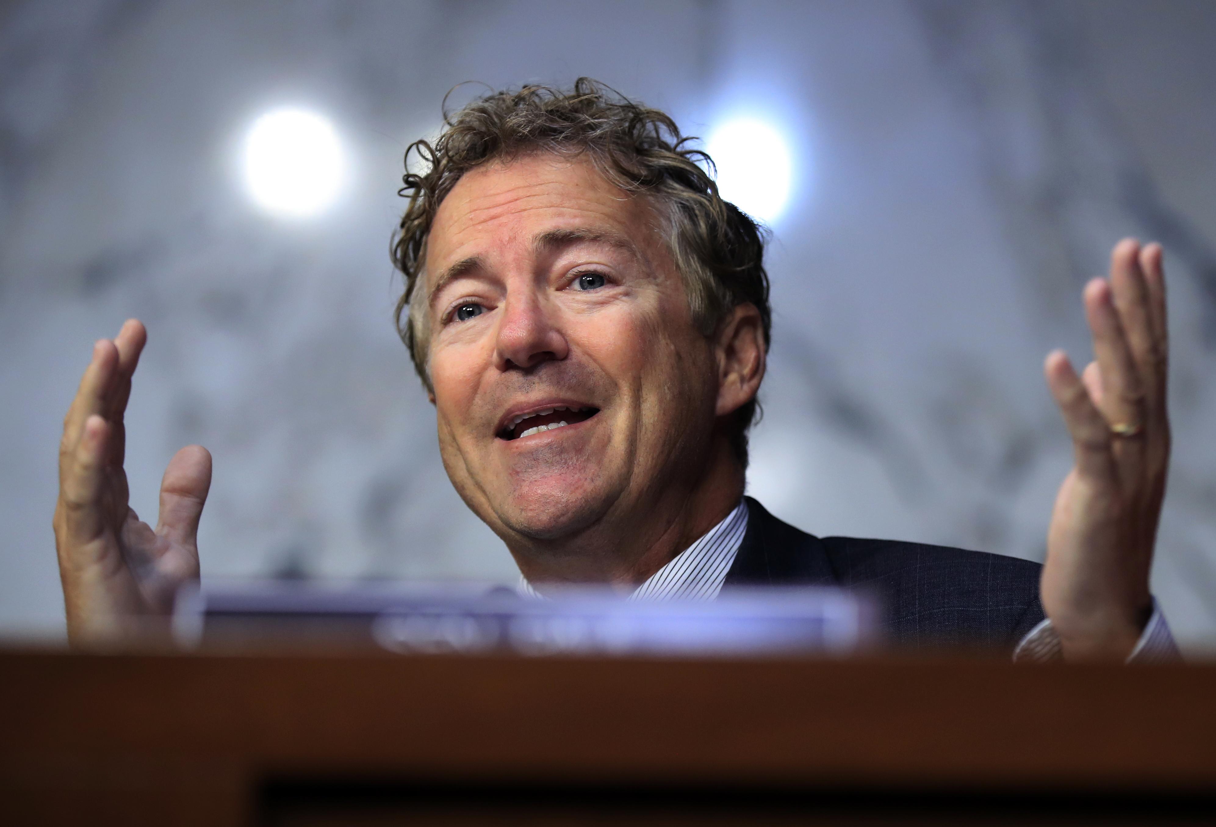 Rand Paul slams GOP 'hypocrisy' on spending bill