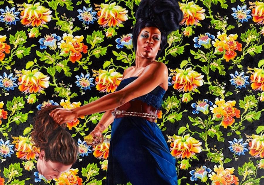 Kehinde Wiley, Barack Obama's portrait artist, painted black women beheading white women
