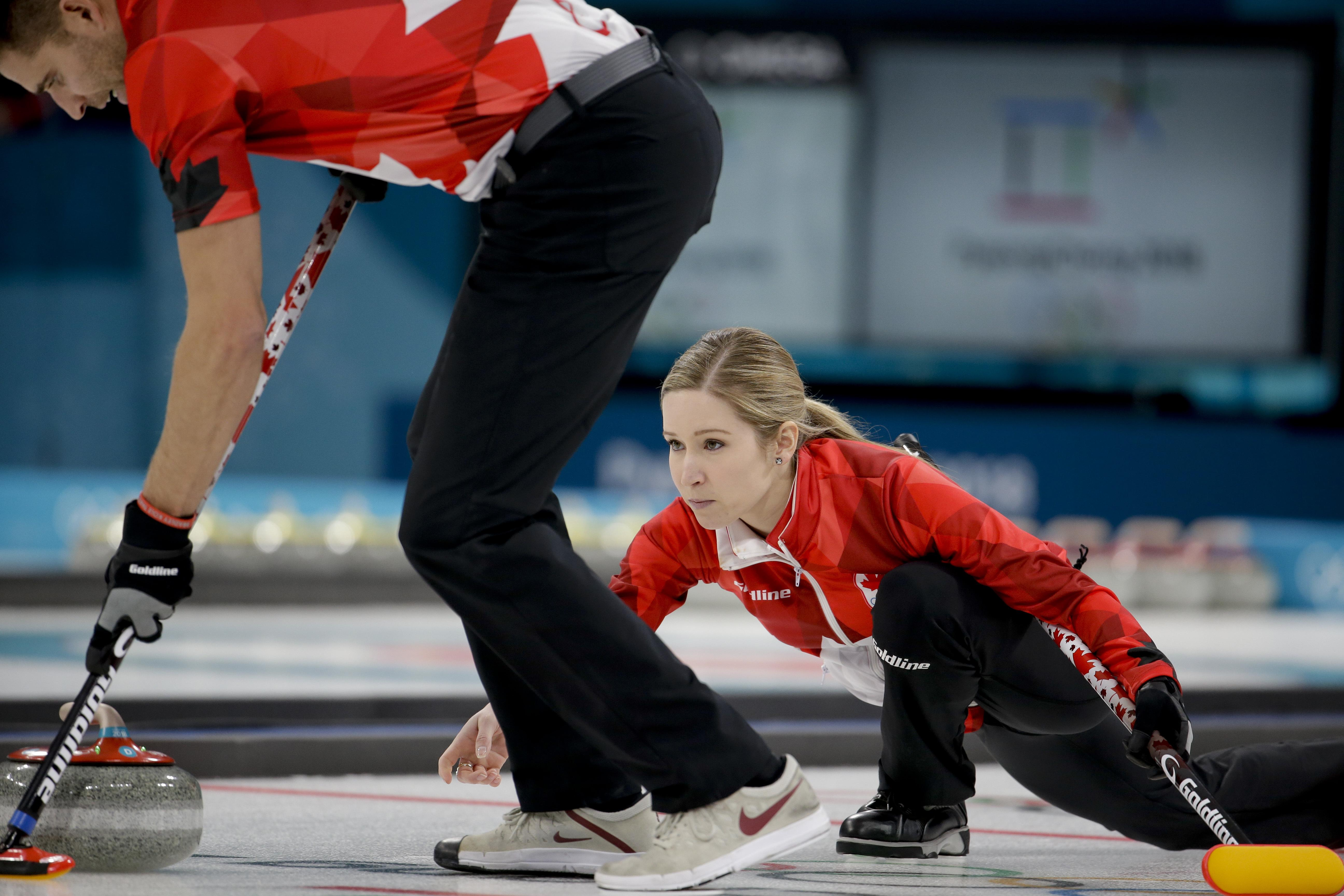 Canada wins 1st Olympic gold in curling mixed doubles