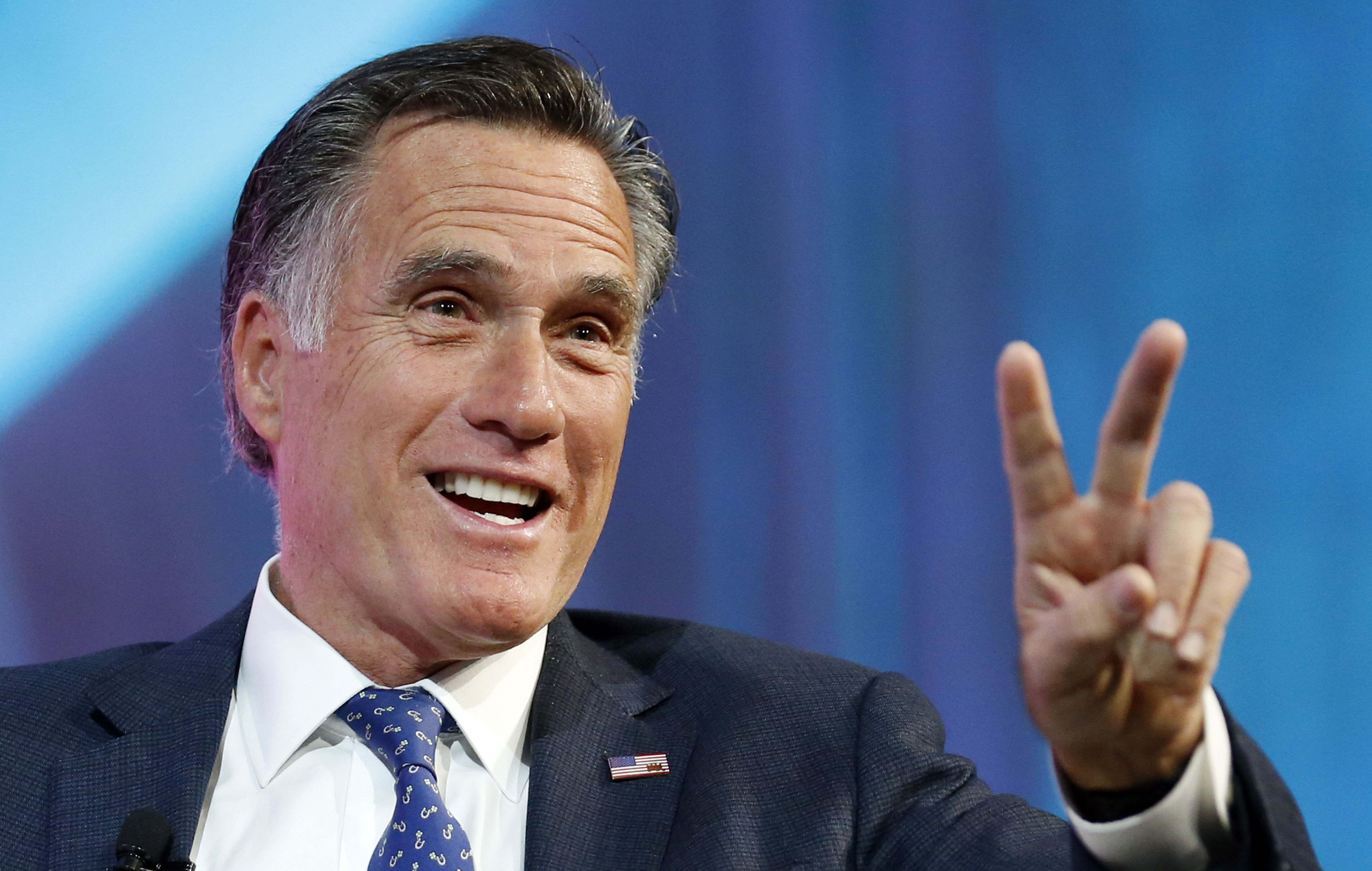 photo image Mitt Romney Utah Senate run divides GOP