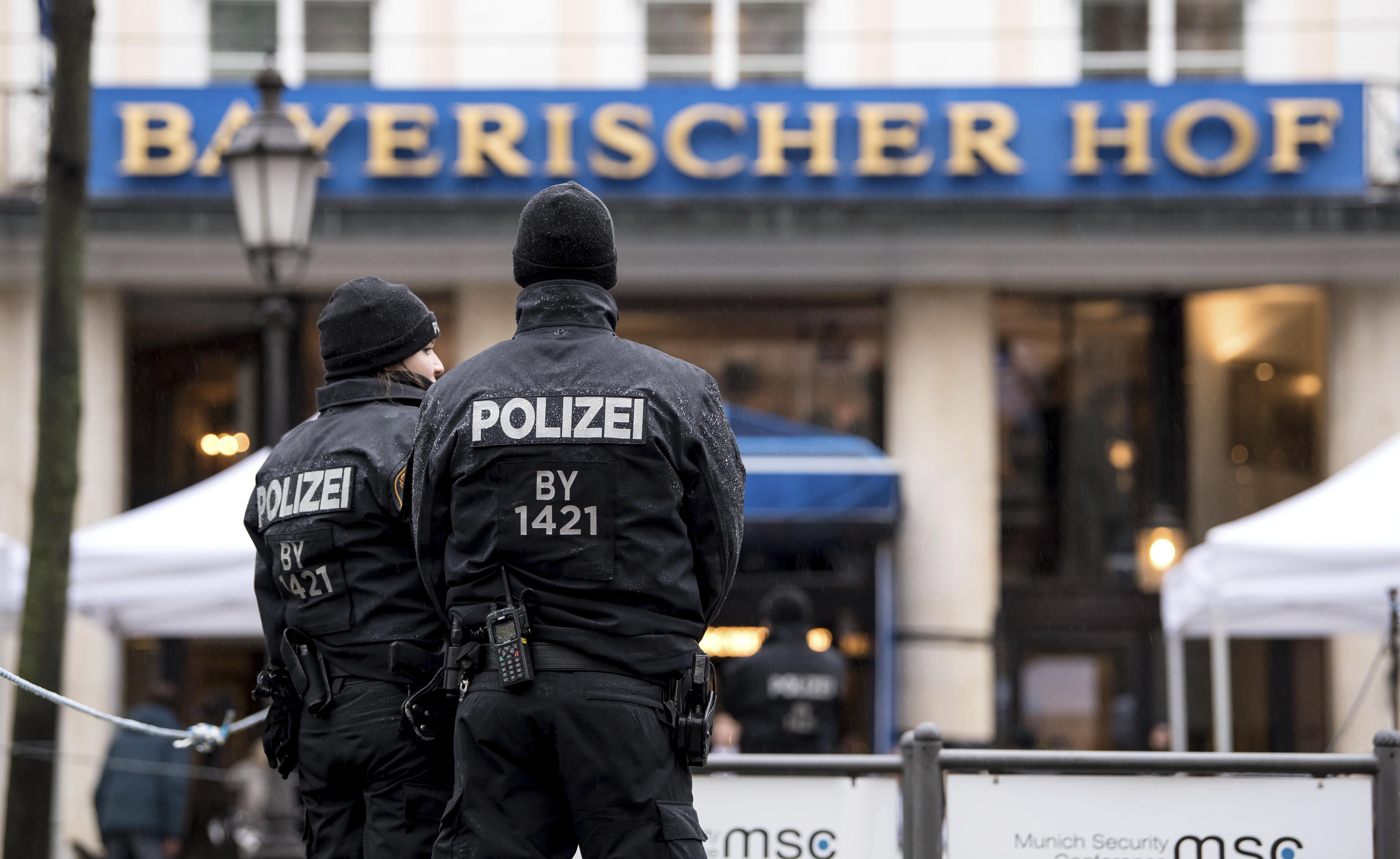Security conference in Germany brings together top officials