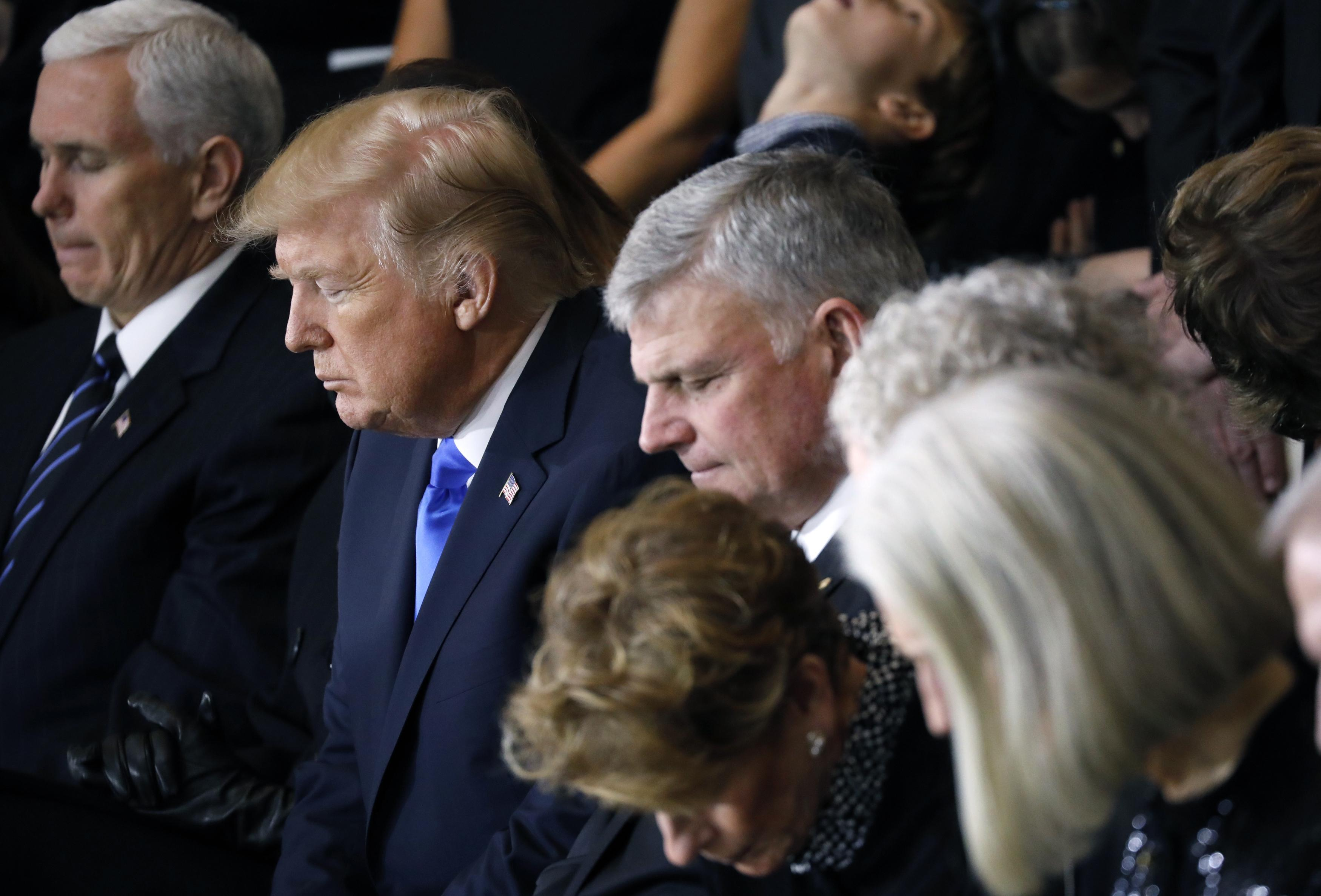 Franklin Graham calls for 'special day of prayer' for Trump: 'This is a critical time for America'