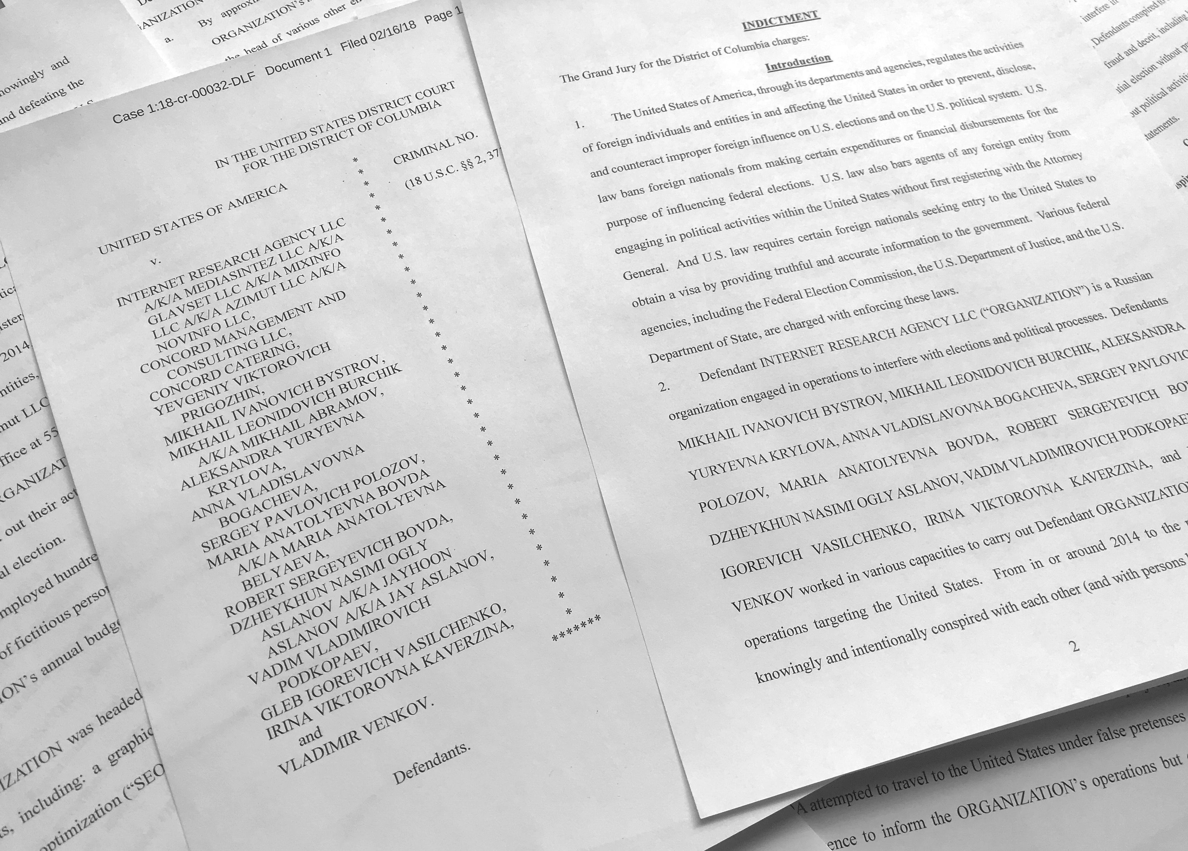 Trial in Russian troll farm case set for April 2020