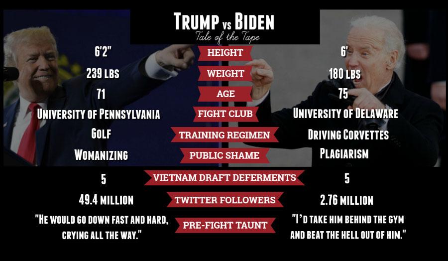Image result for biden vs trump