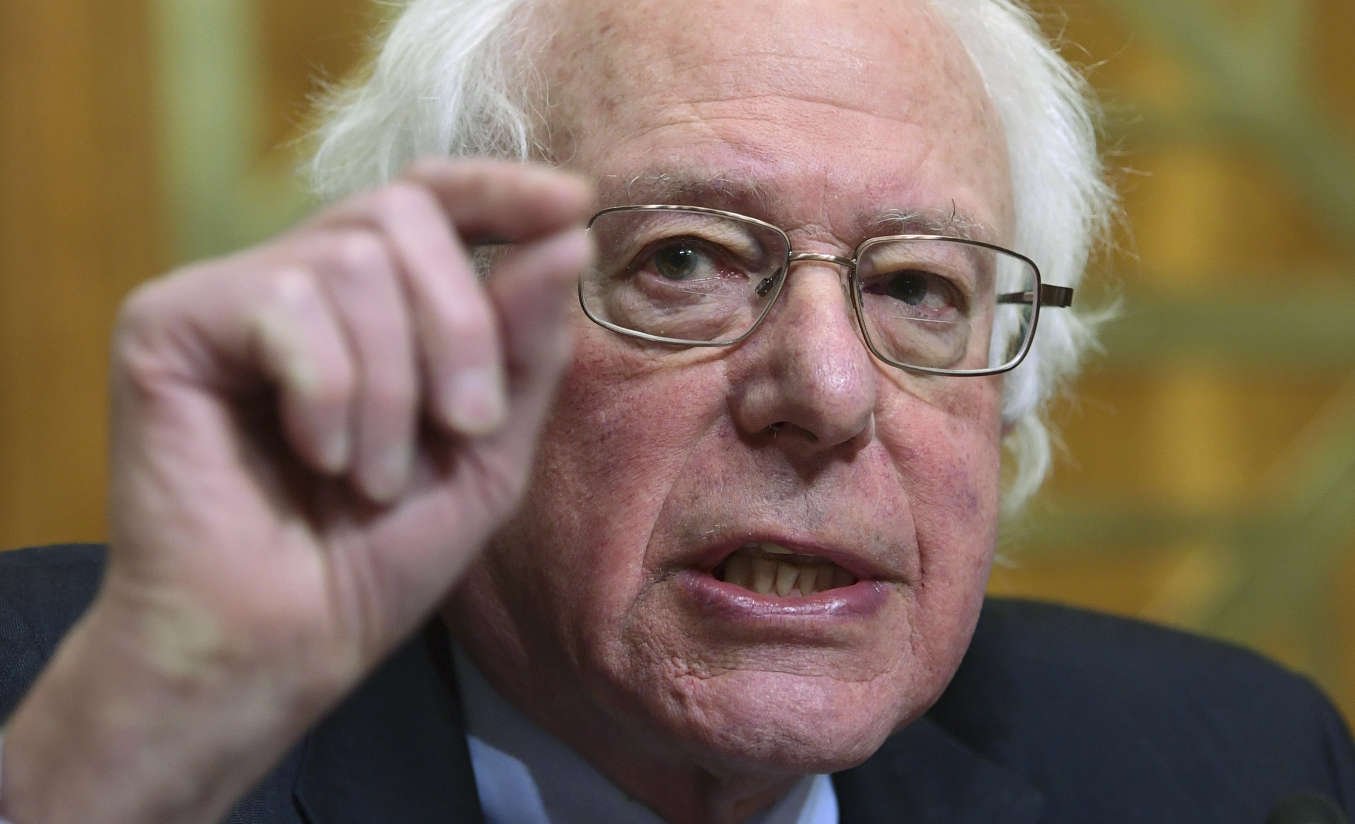 Bernie Agrees  TOO MUCH POWER
