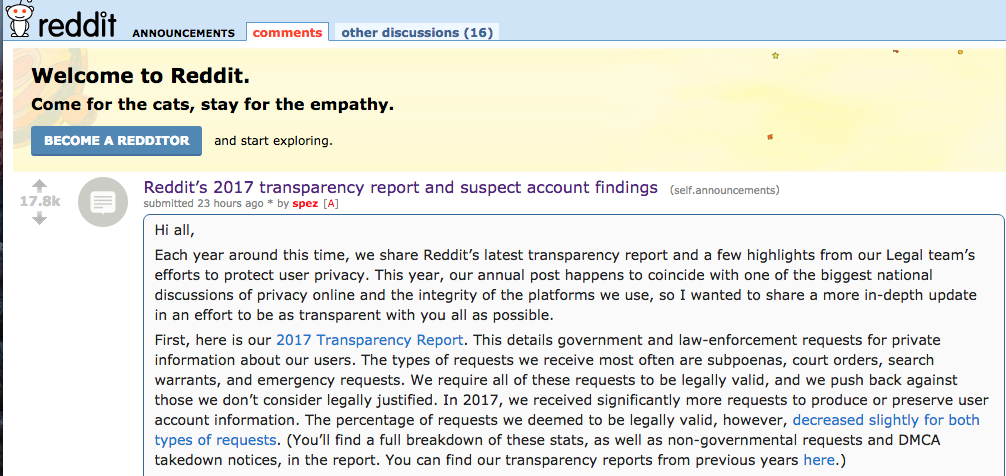 Reddit boots 944 accounts linked to Internet Research Agency