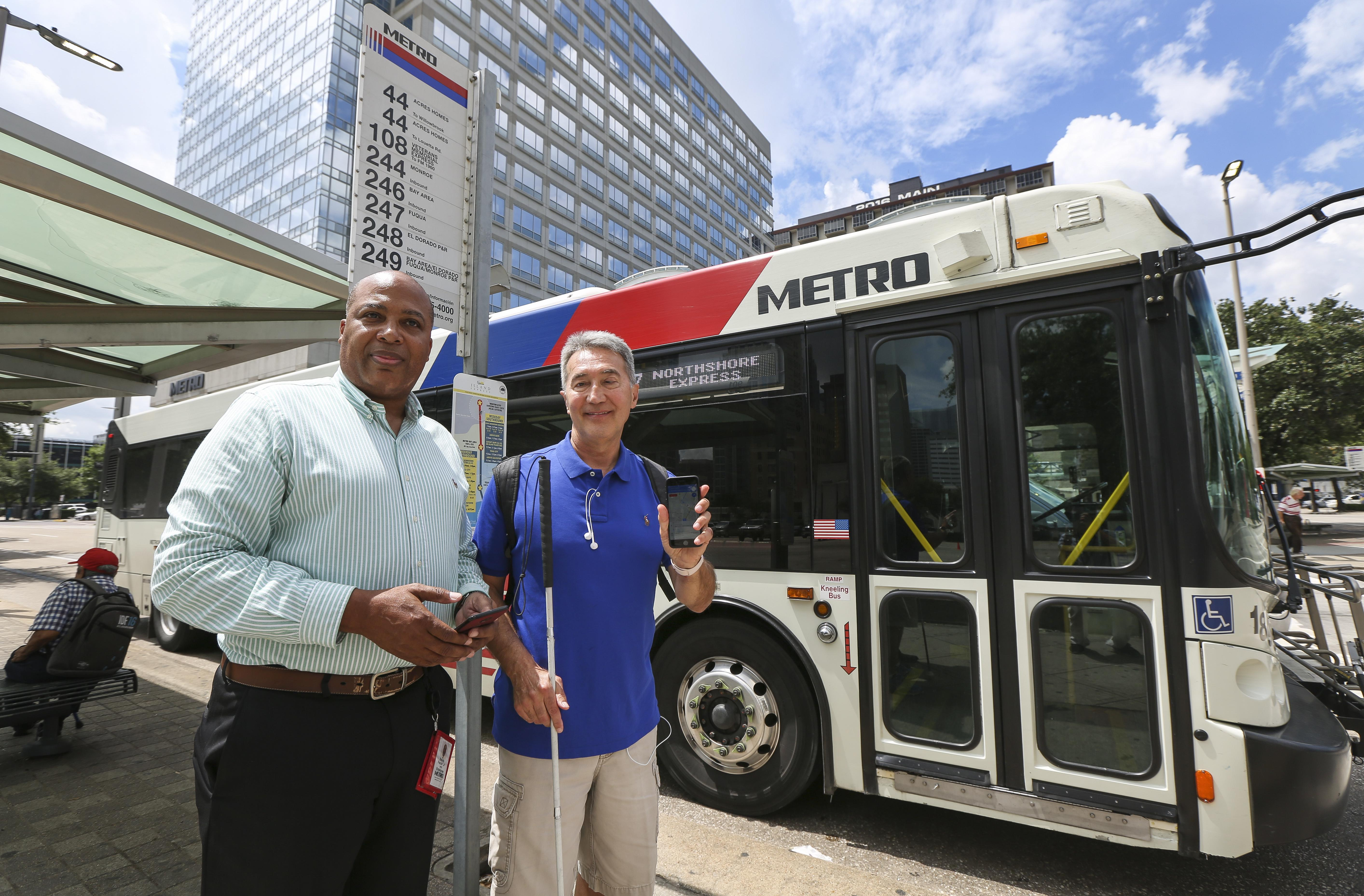Houston Metro beacons to help visually impaired riders